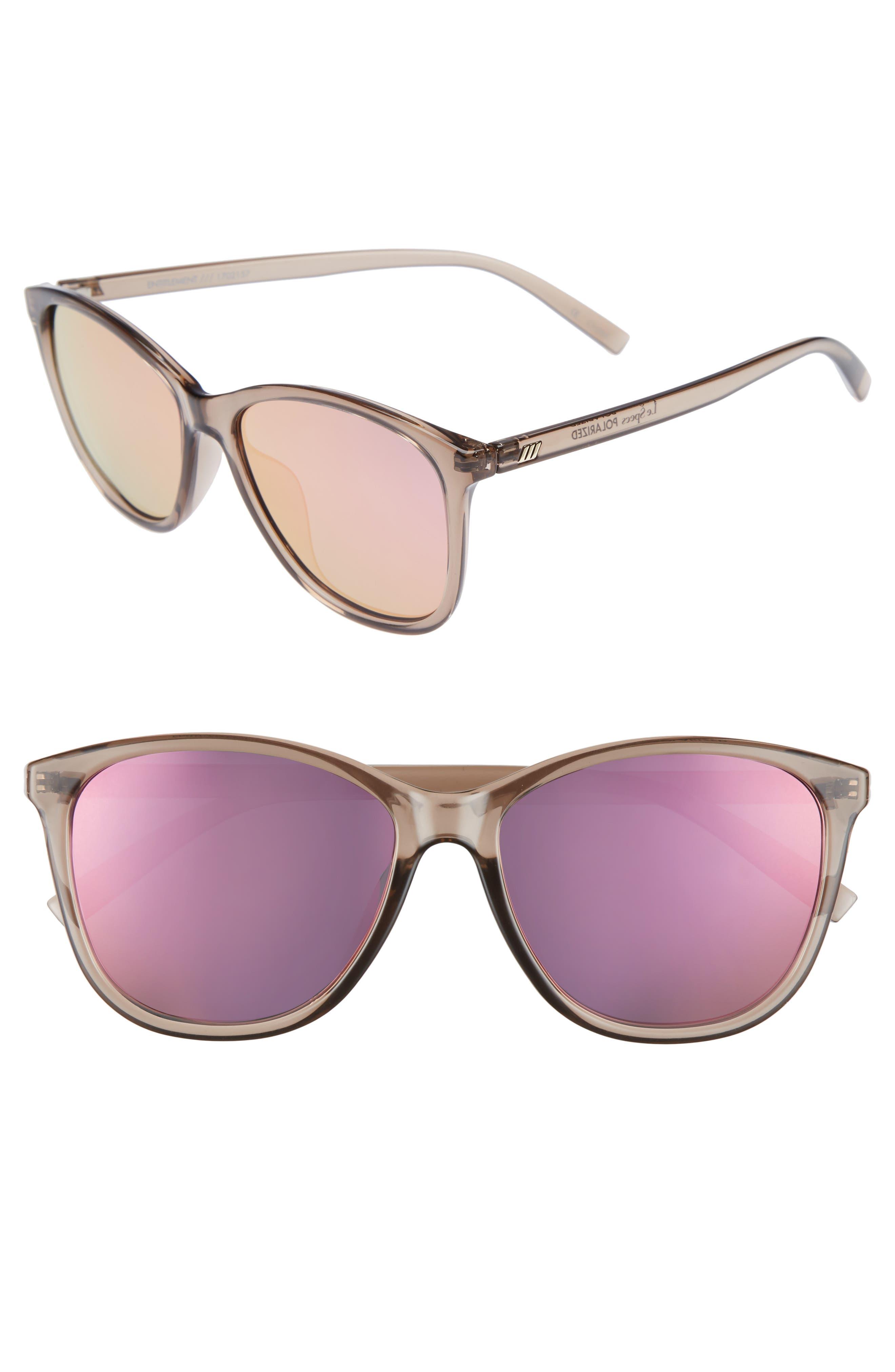 Main Image - Le Specs Entitlement 57mm Sunglasses