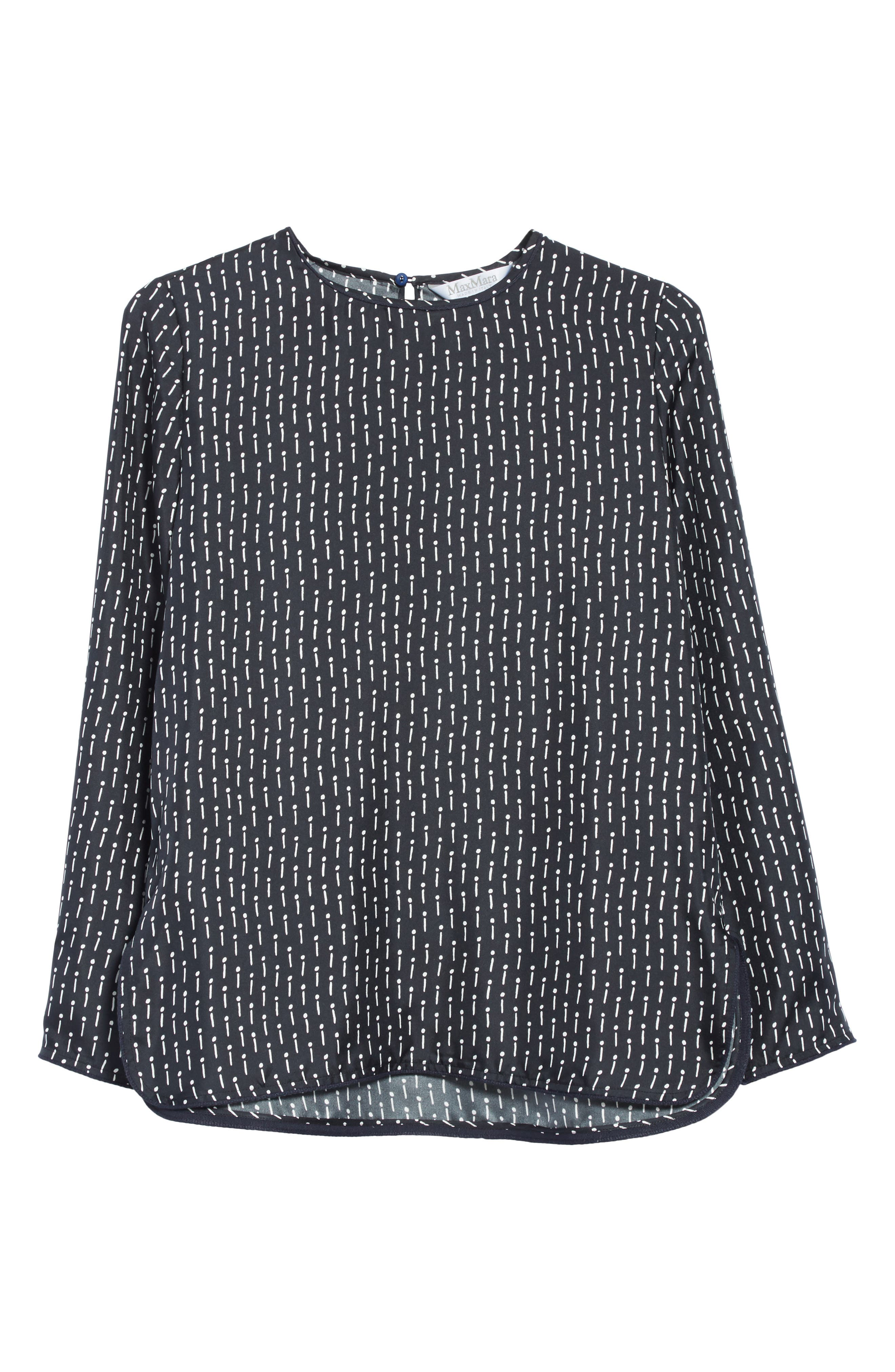 Alternate Image 8  - Max Mara Curt Silk Blouse