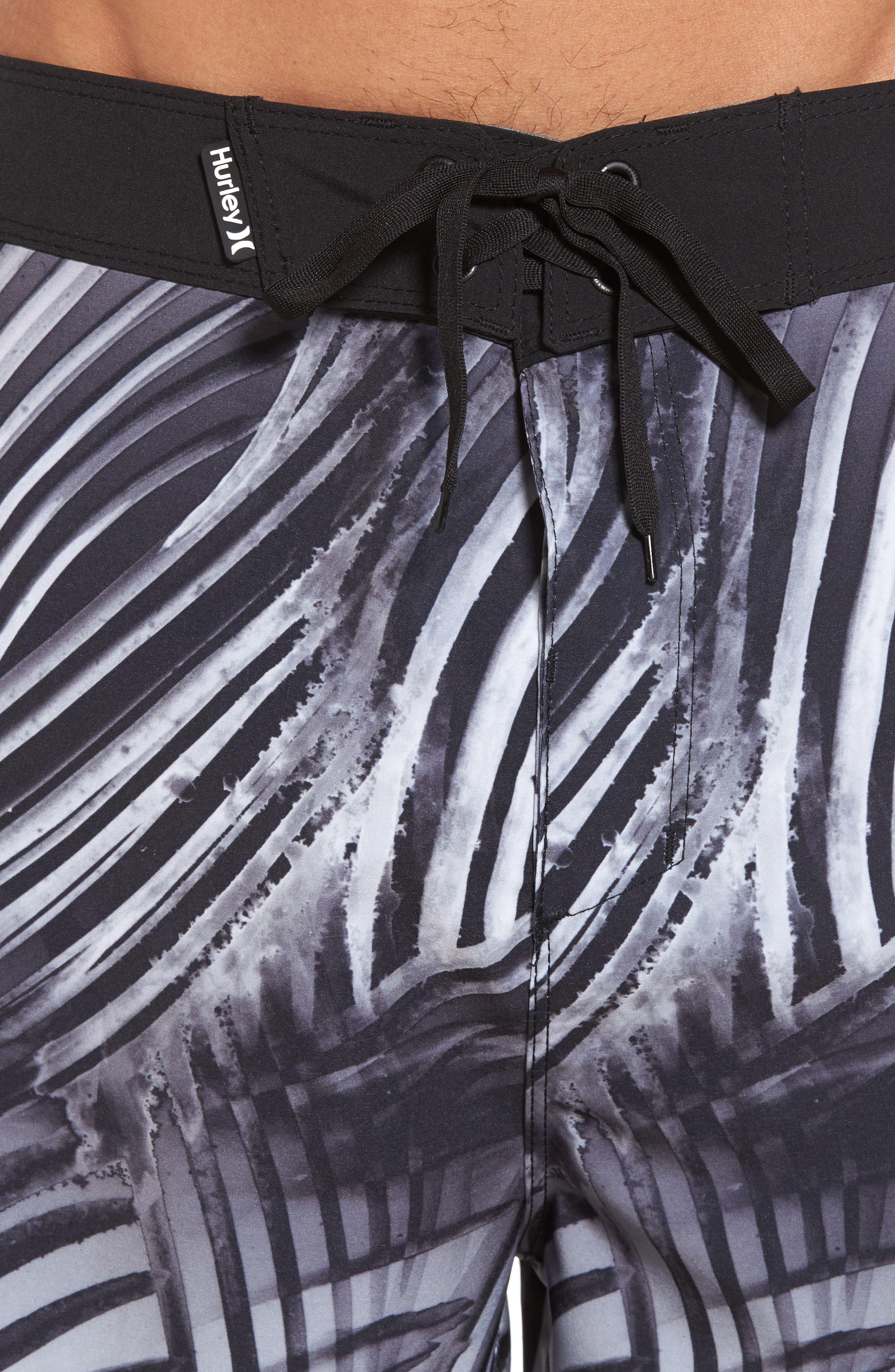 Phantom Crest Board Shorts,                             Alternate thumbnail 4, color,                             Black