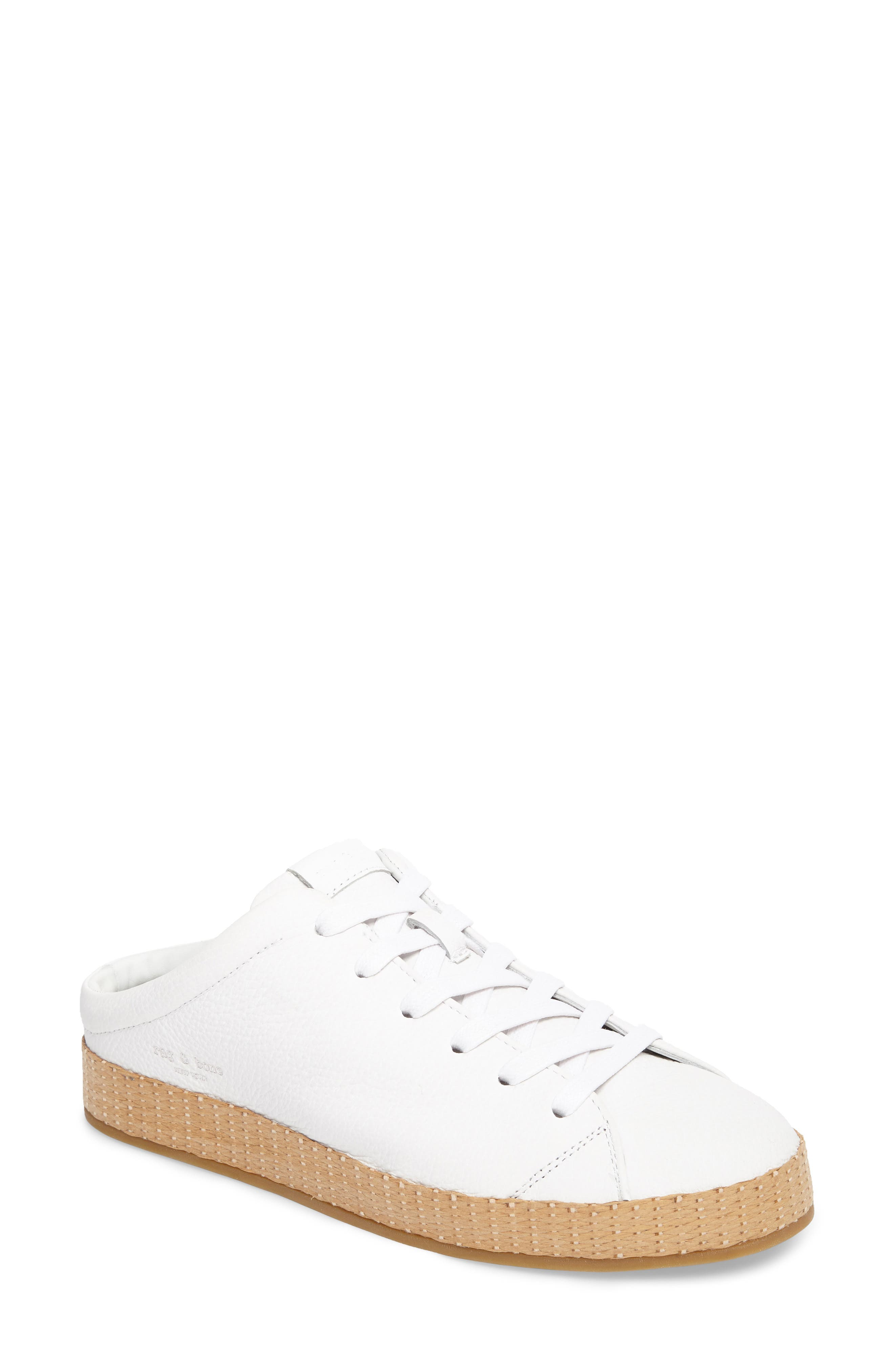 RB1 Slip-On Sneaker,                             Main thumbnail 1, color,                             White
