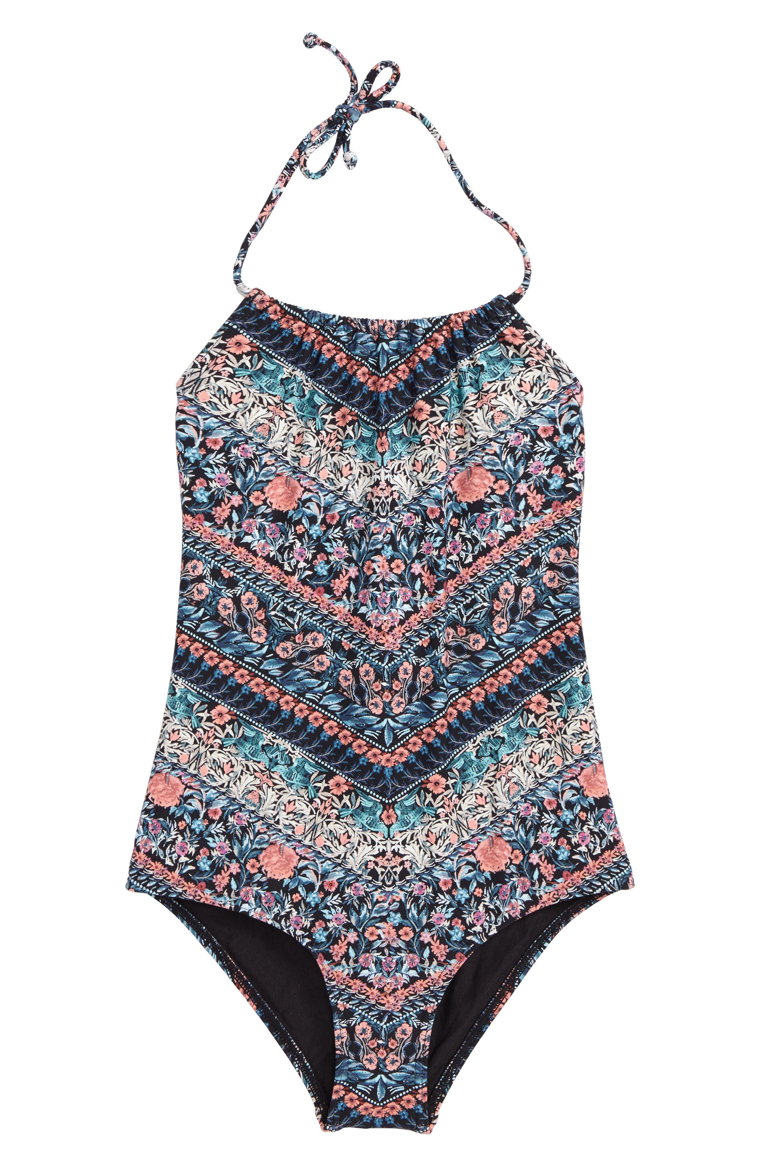 O'Neill Porter One-Piece Swimsuit (Big Girls)
