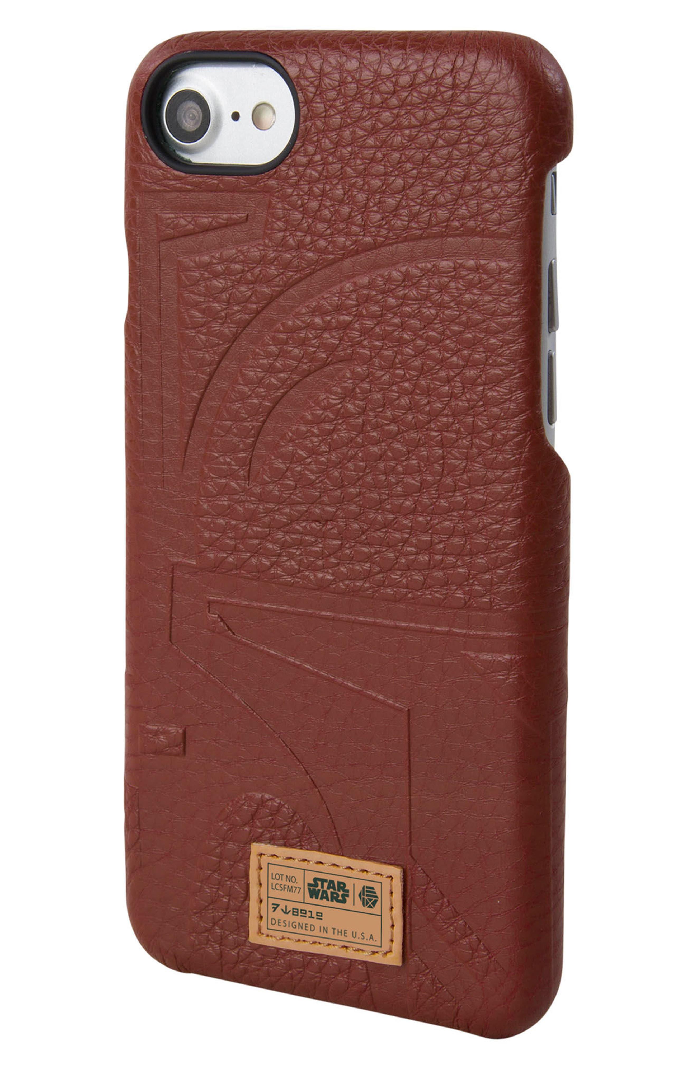 Boba Fett iPhone 6/6s/7/8 Case,                         Main,                         color, Burgundy