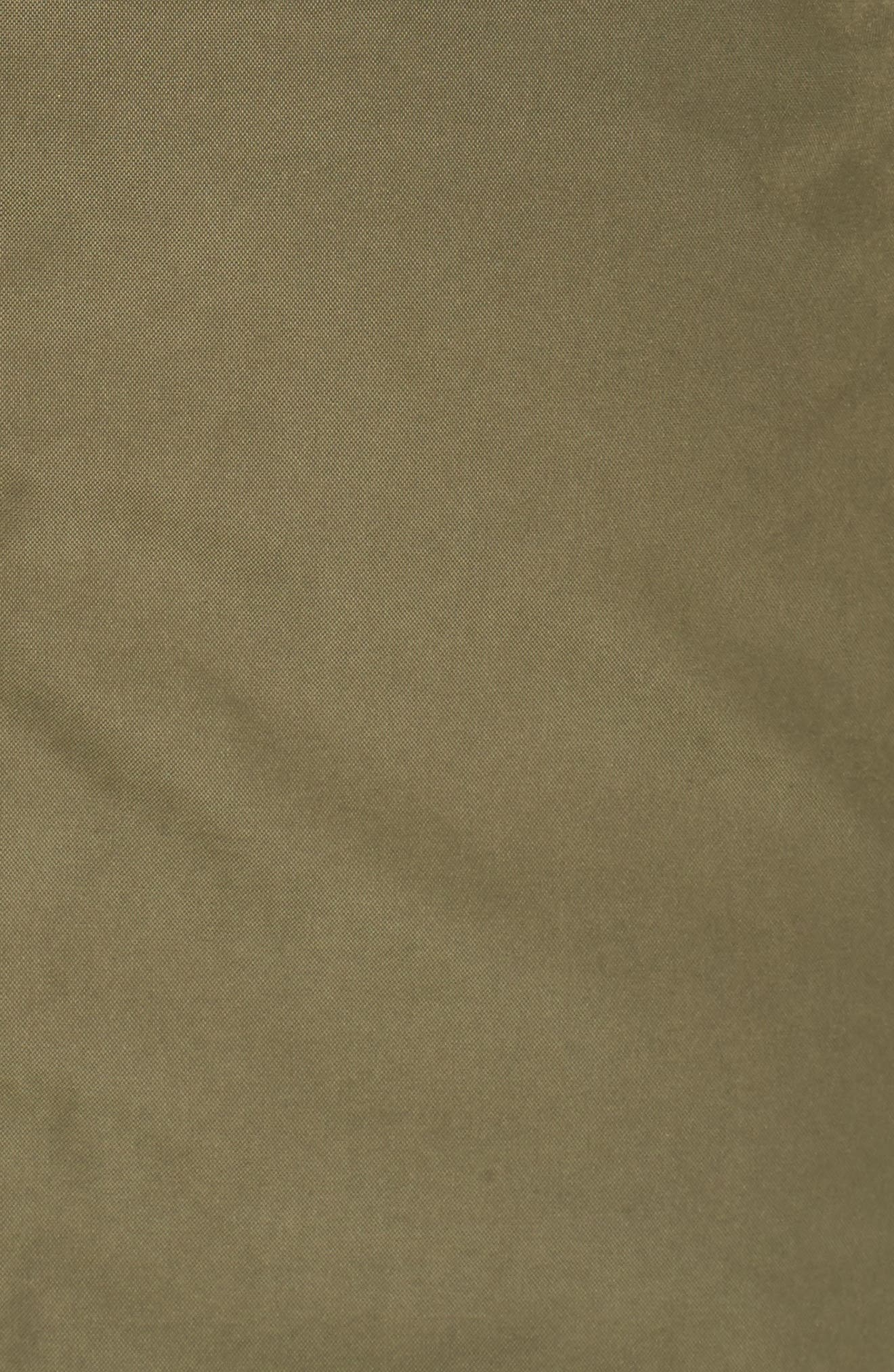 Heavenly Down Jacket,                             Alternate thumbnail 6, color,                             Burnt Olive Green