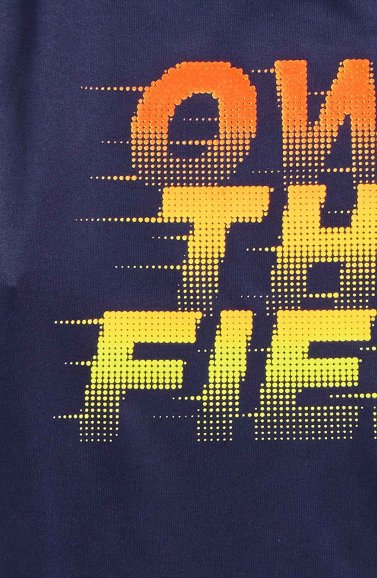 Own the Field Layered T-Shirt,                             Alternate thumbnail 2, color,                             Midnight Navy
