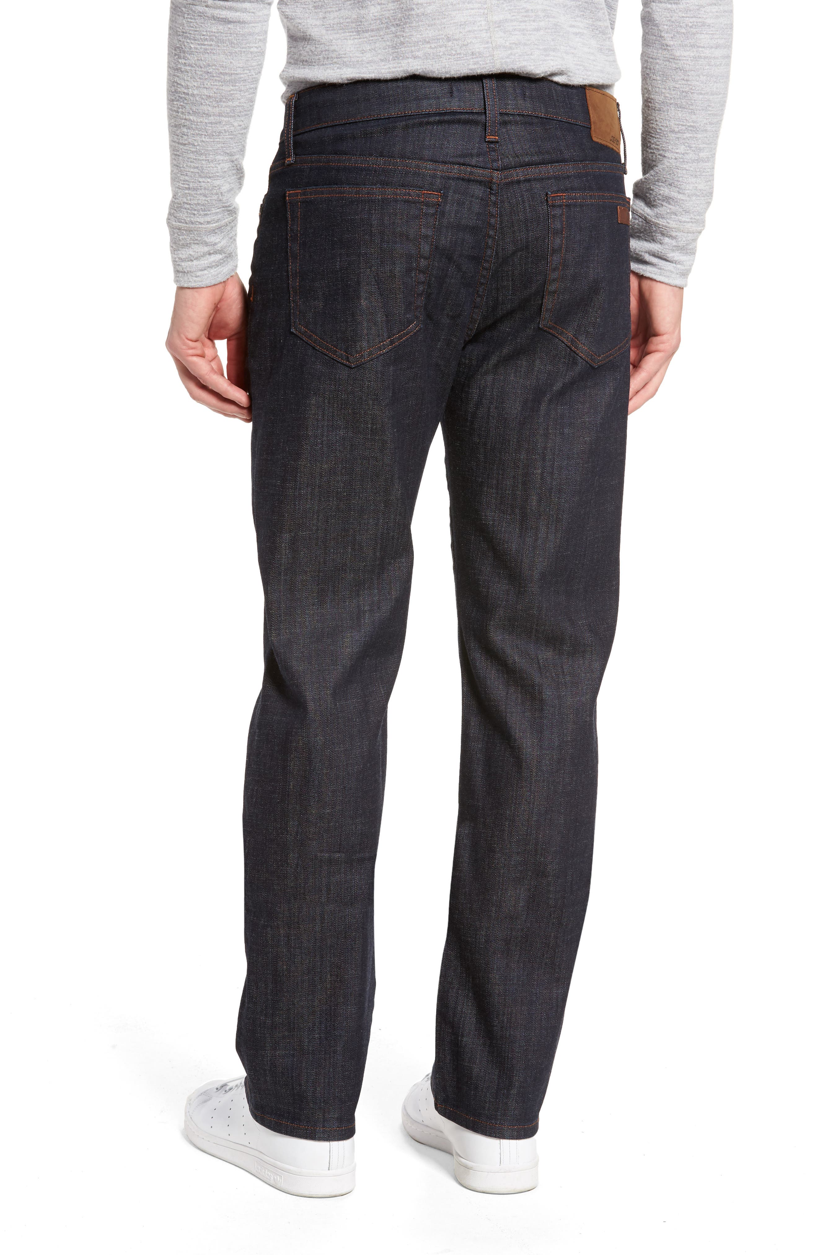 Classic Straight Leg Jeans,                             Alternate thumbnail 2, color,                             Dakota