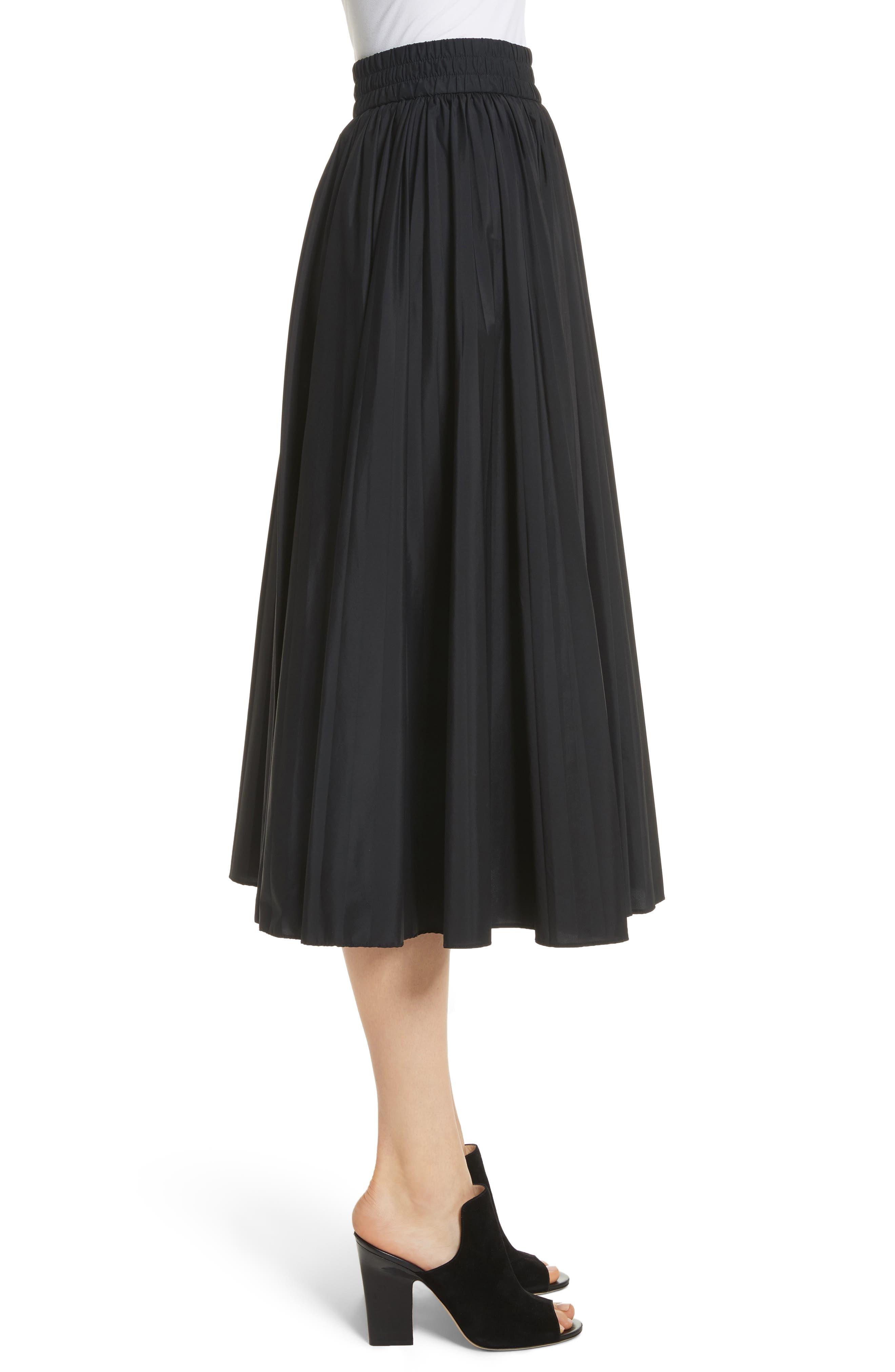 Alternate Image 4  - RED Valentino Pleated Midi Skirt
