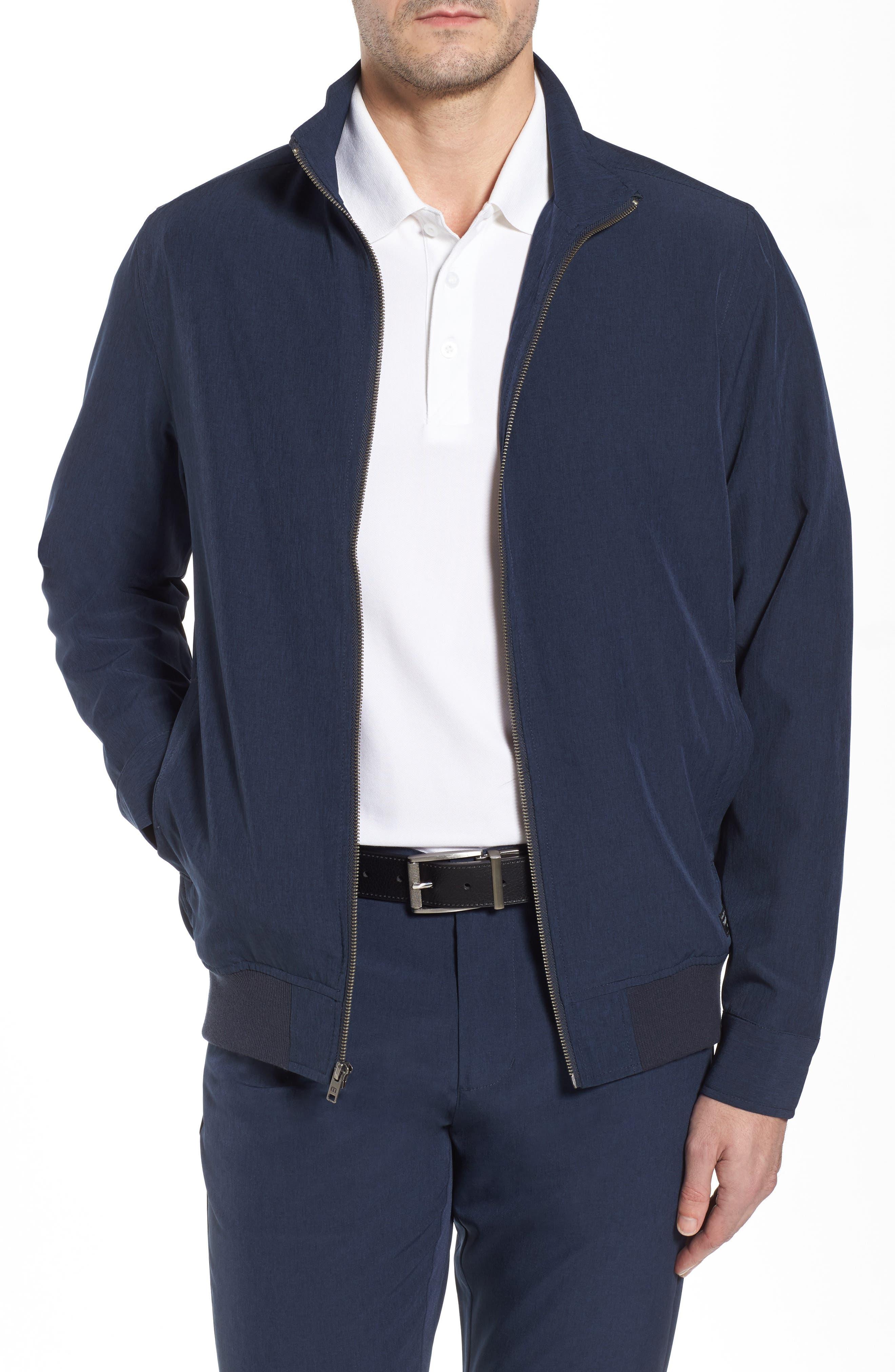 Harbor Jacket,                         Main,                         color, Heather Blue Nights