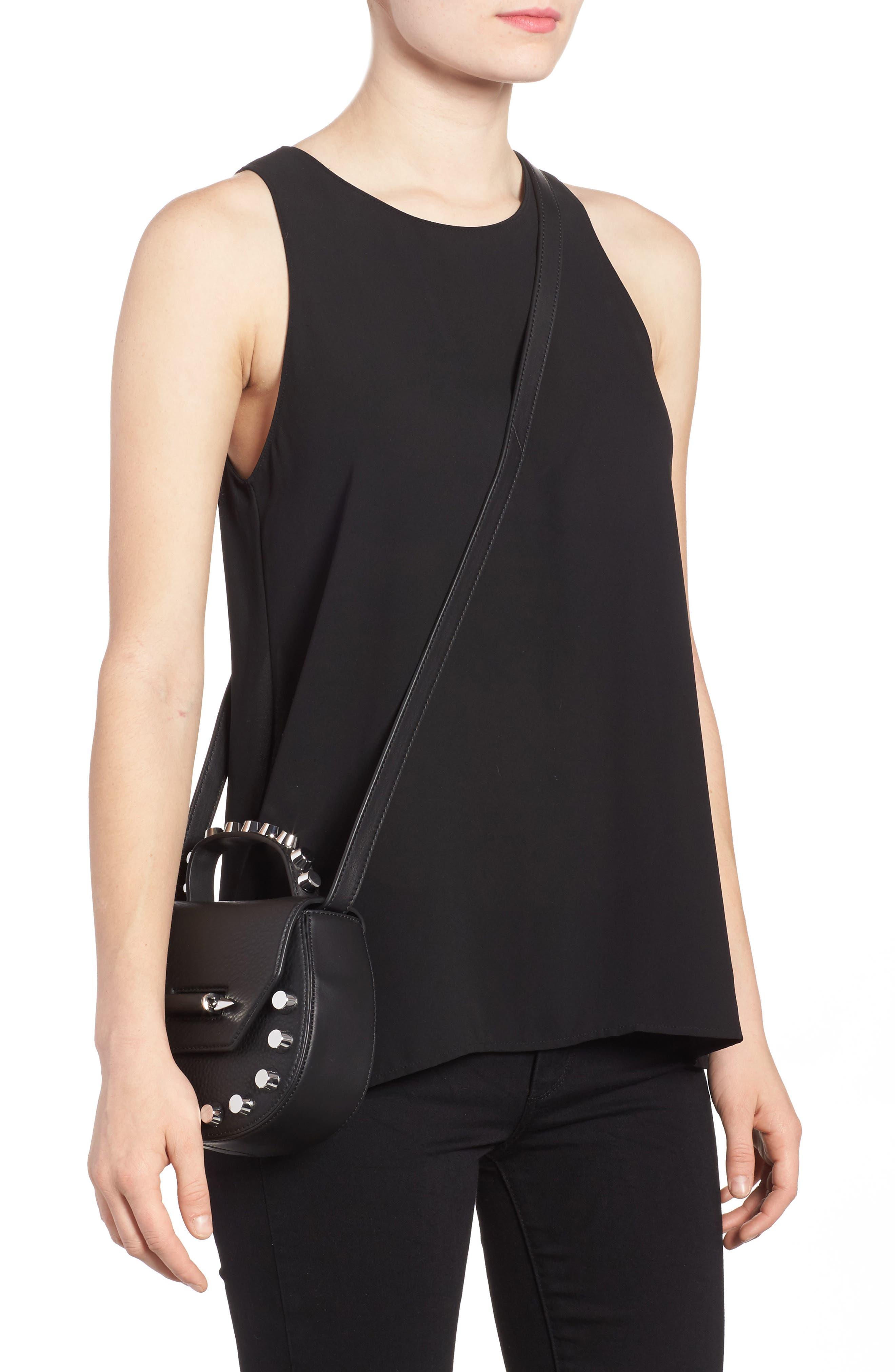 Alternate Image 2  - Mackage Wilma Studded Leather Crossbody Bag