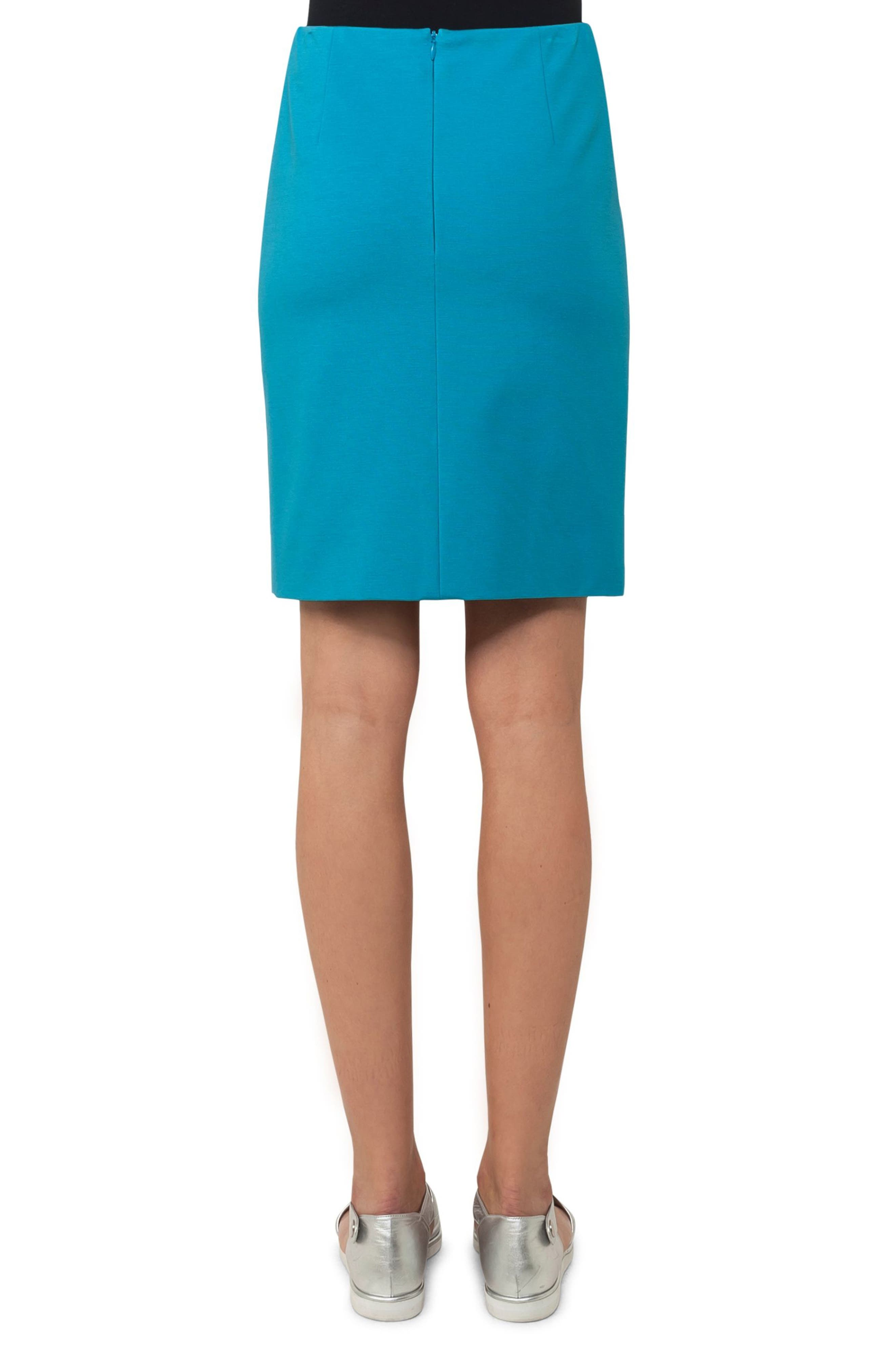 Alternate Image 2  - Akris punto Jersey Miniskirt