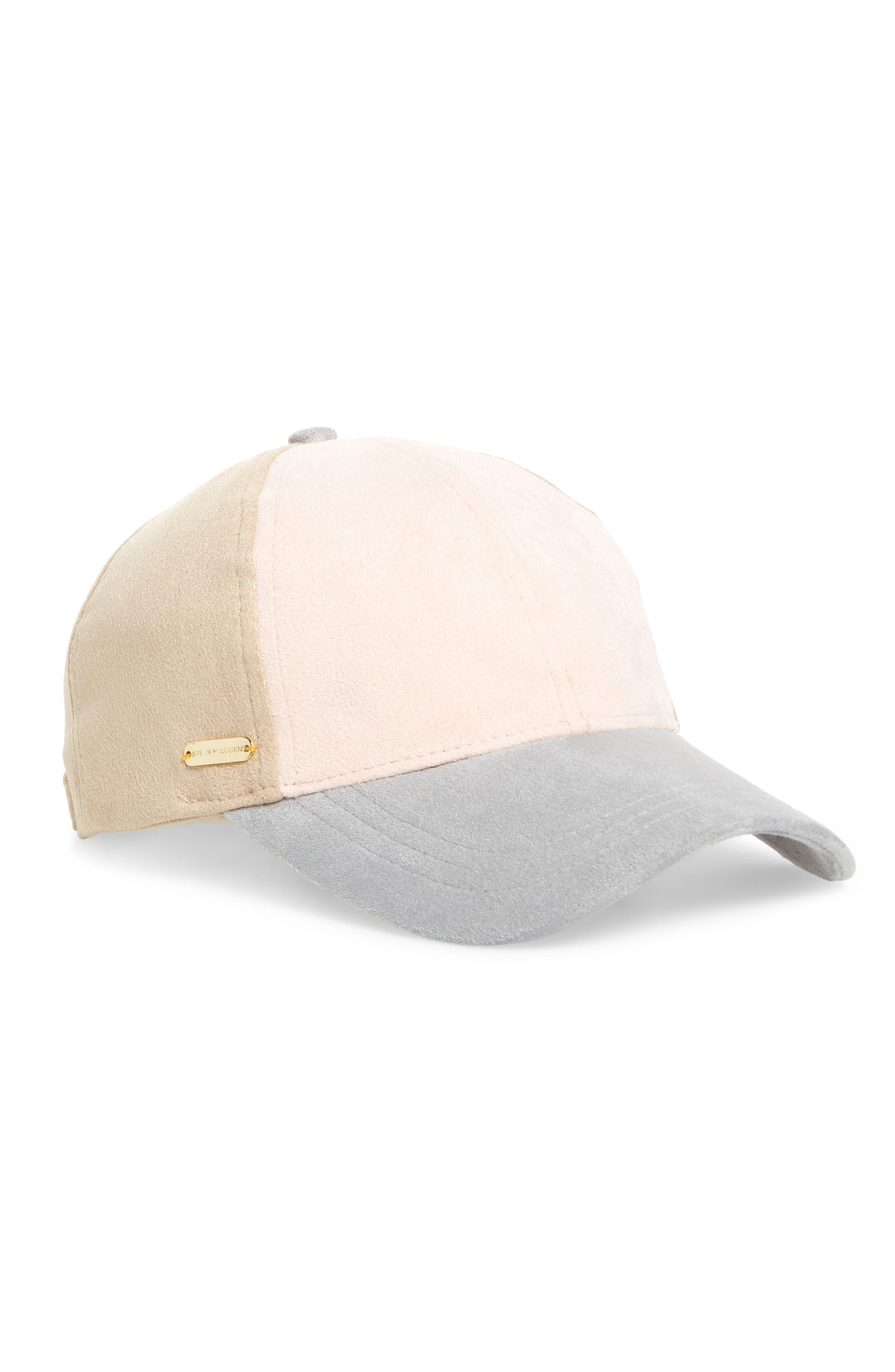 Steve Madden Color Block Baseball Cap