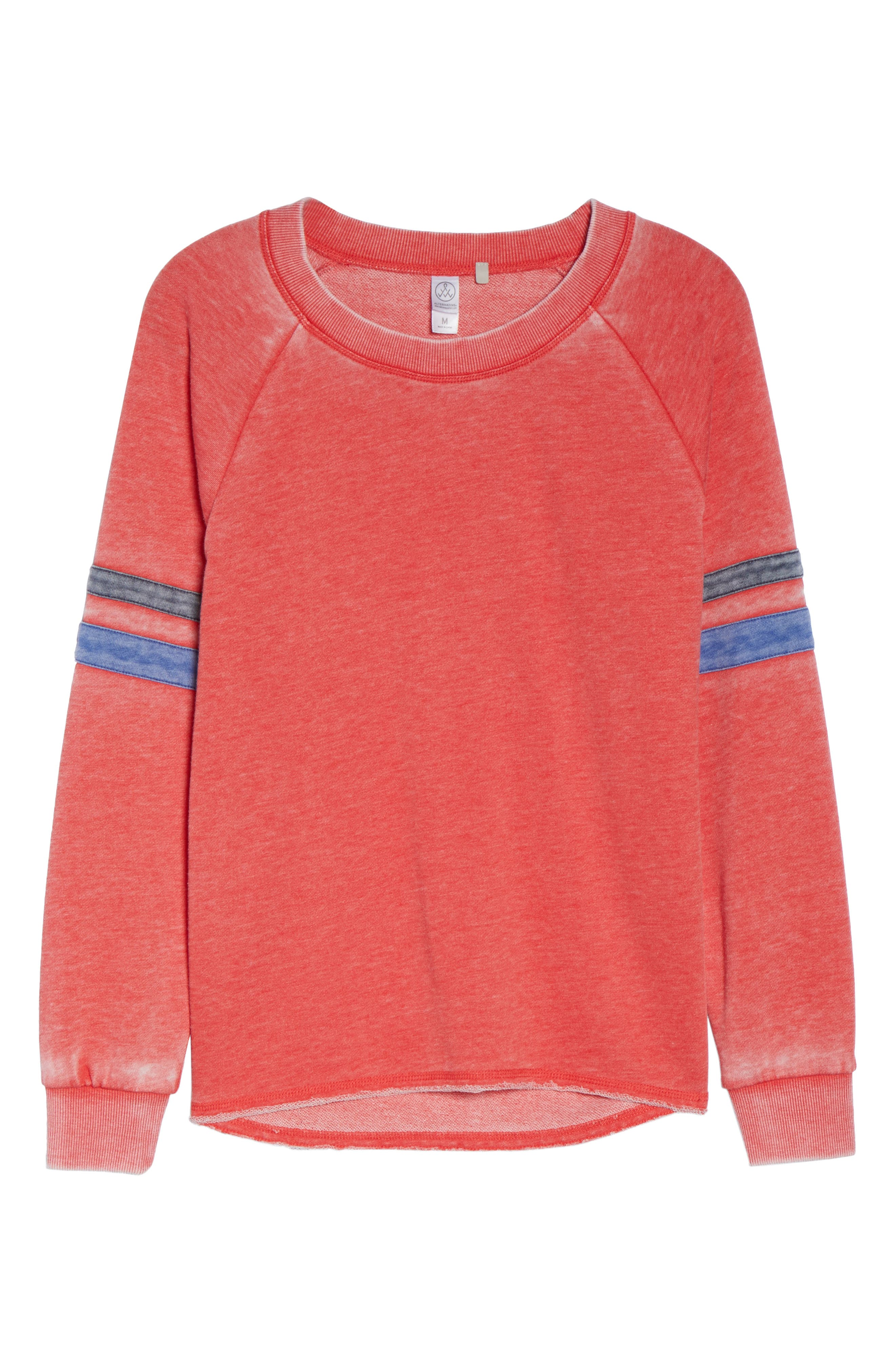 Alternate Image 5  - Alternative Lazy Day Sweatshirt