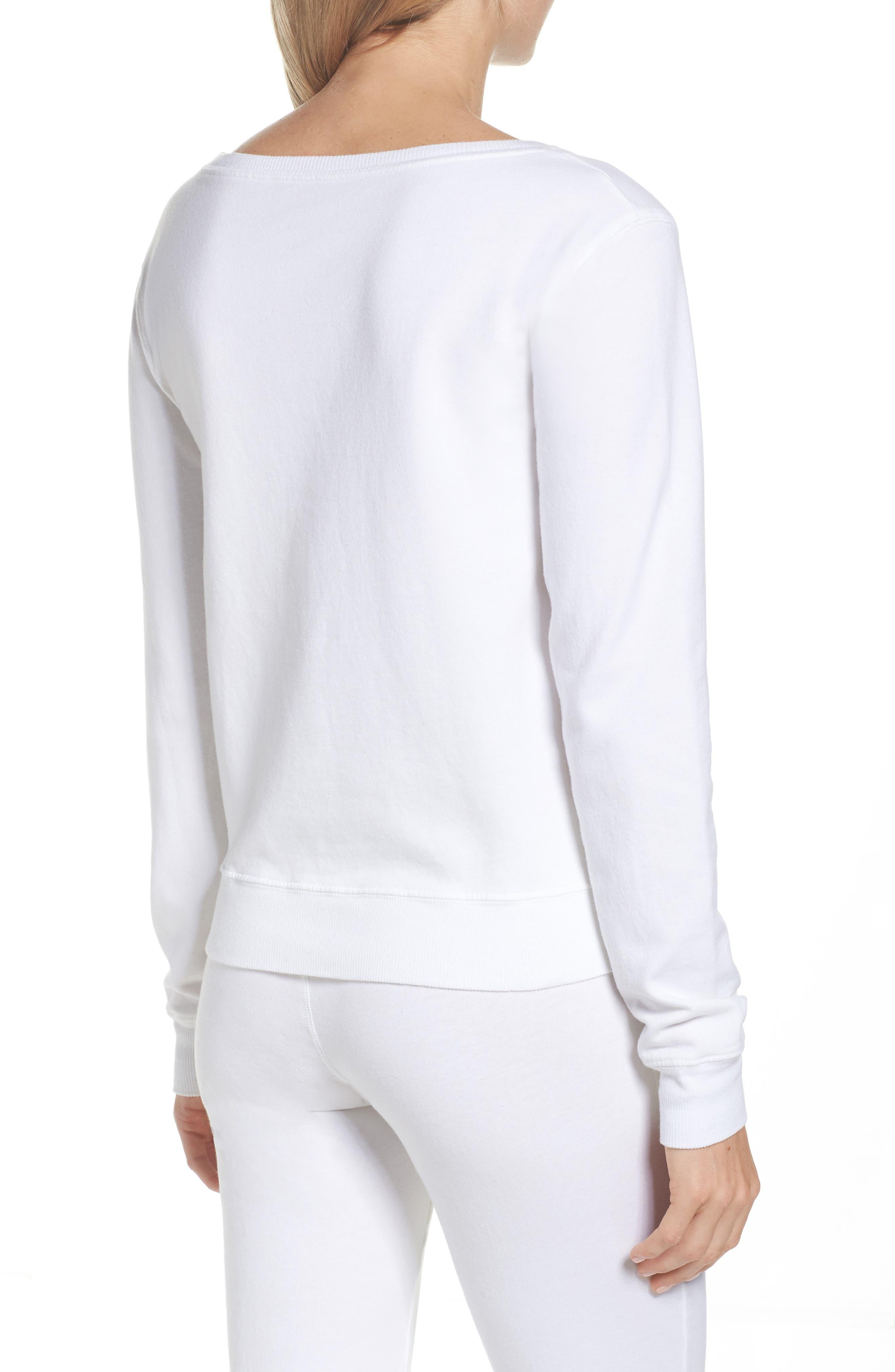 Alternate Image 2  - LOVE+GRACE Lordes Fuzzy Fleece Sweatshirt