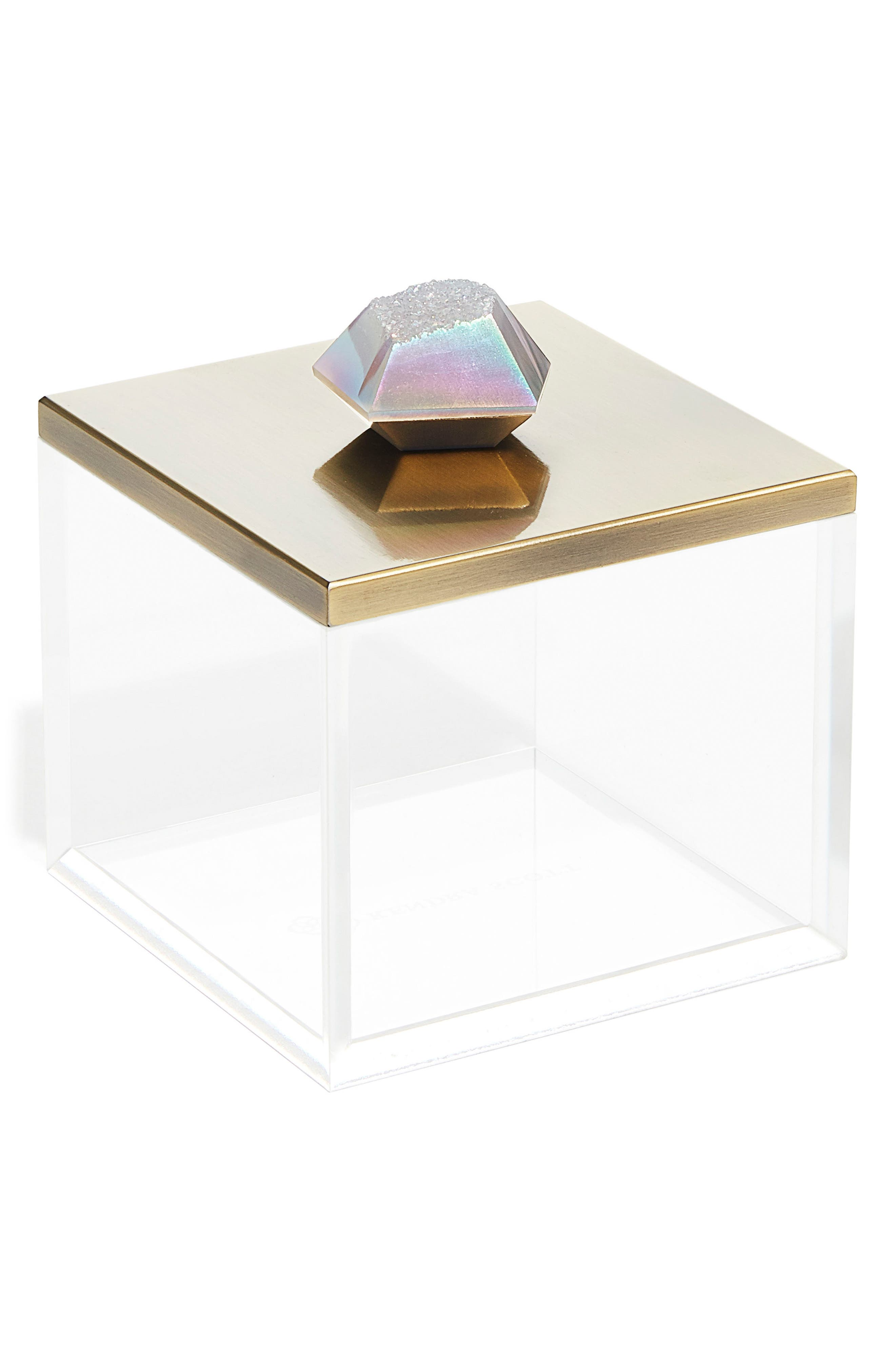 Jewelry Box,                             Main thumbnail 1, color,                             Antique Brass