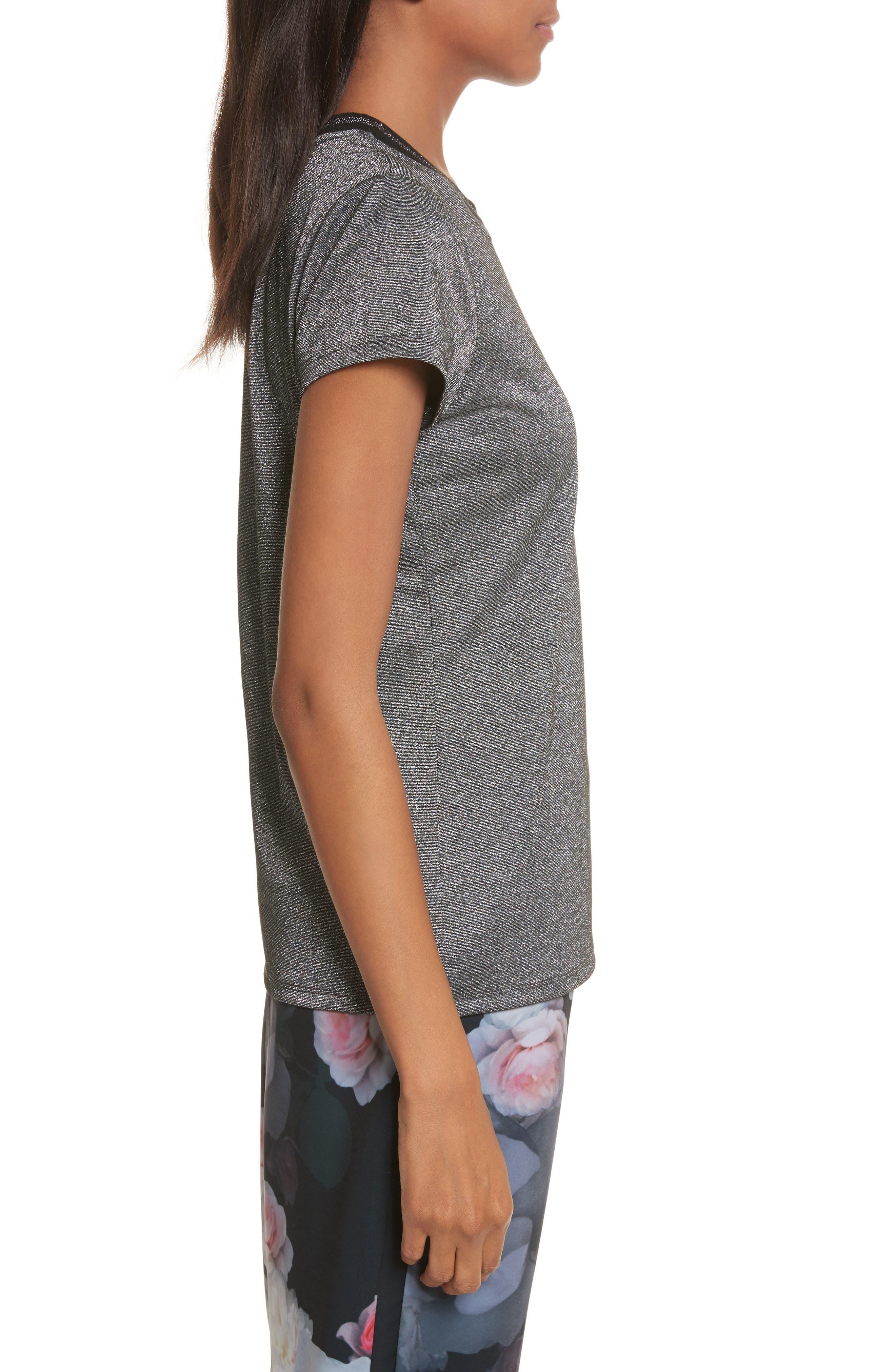 Alternate Image 3  - Ted Baker London Glitter Shirt