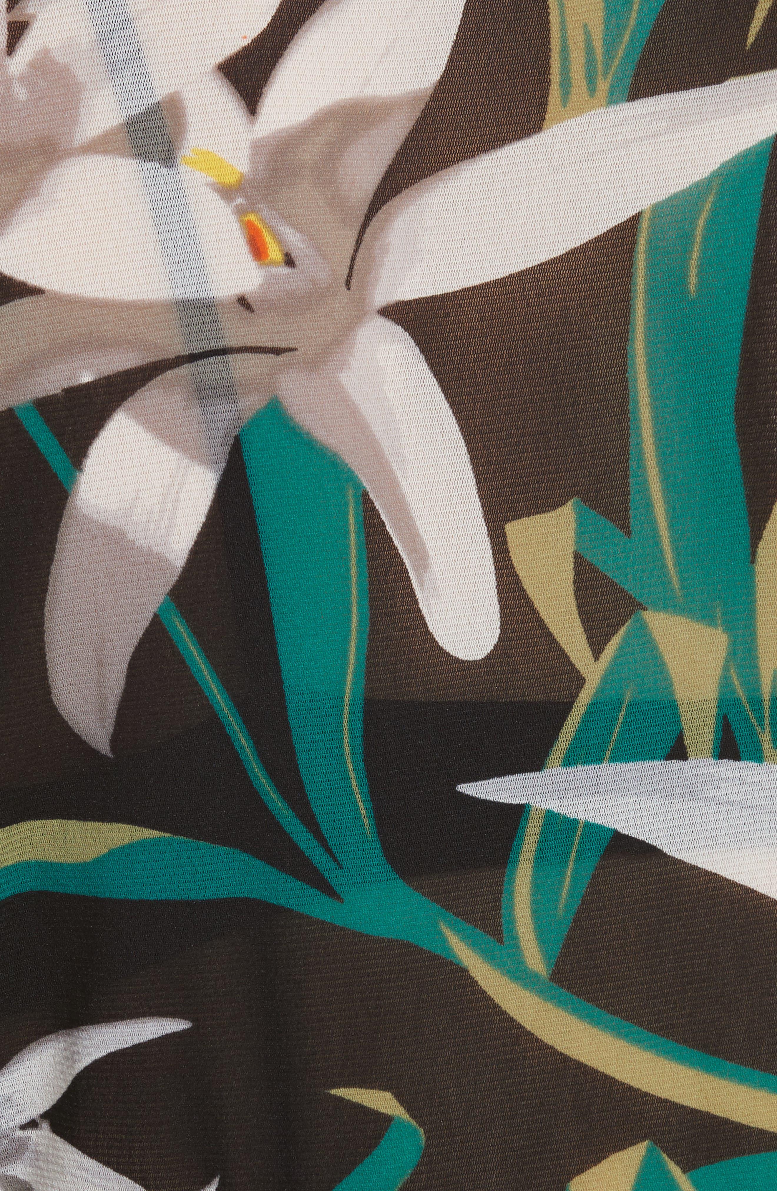 Alternate Image 5  - Diane von Furstenberg Fitted Print Top