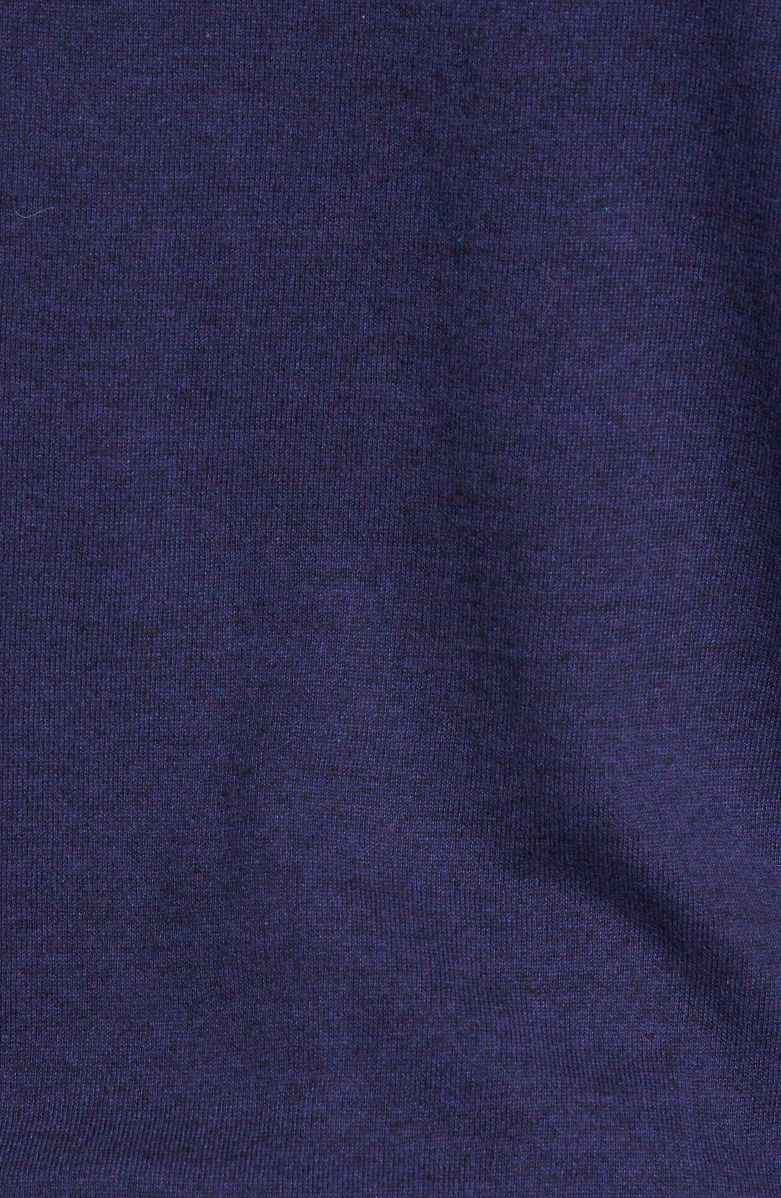 Alternate Image 5  - Nordstrom Men's Shop Fine Gauge Cotton Hoodie