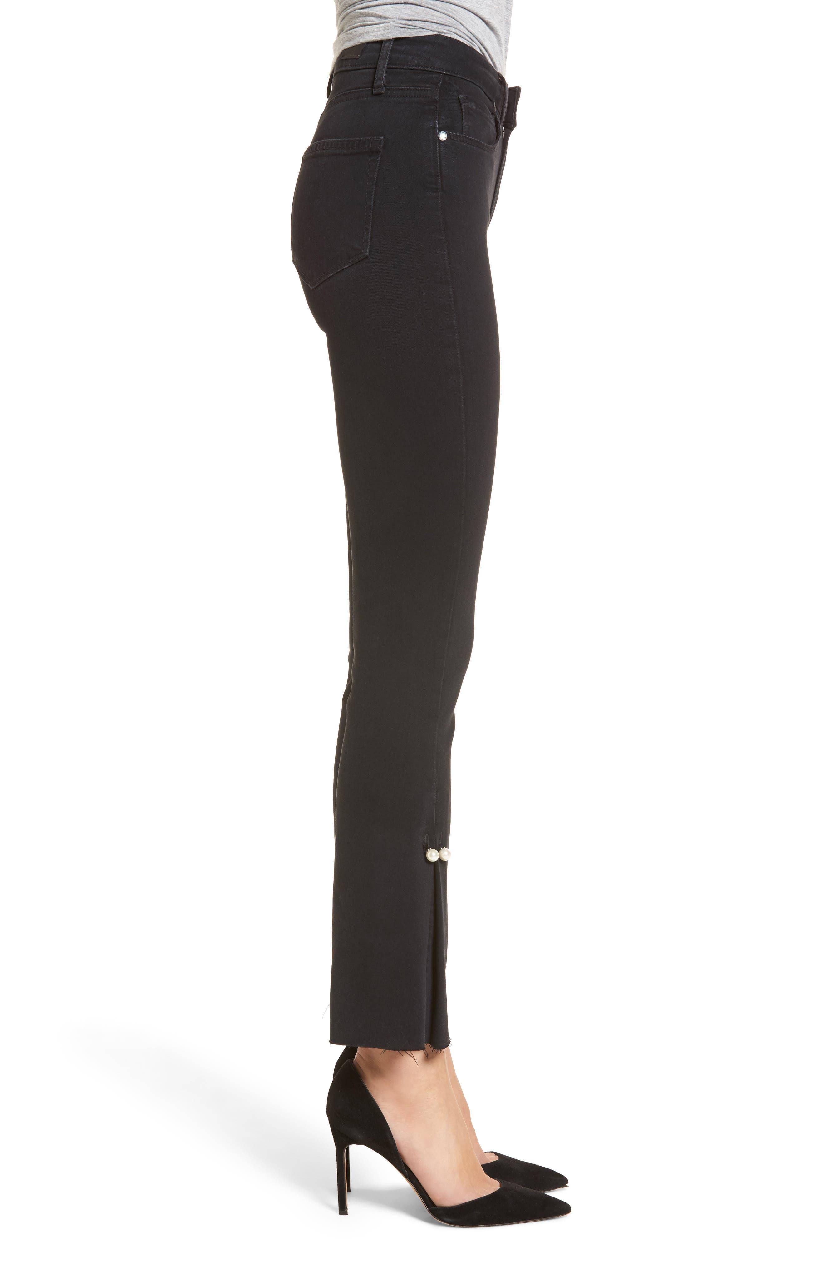 Alternate Image 3  - PAIGE Transcend - Colette High Waist Crop Flare Jeans (Bandit)