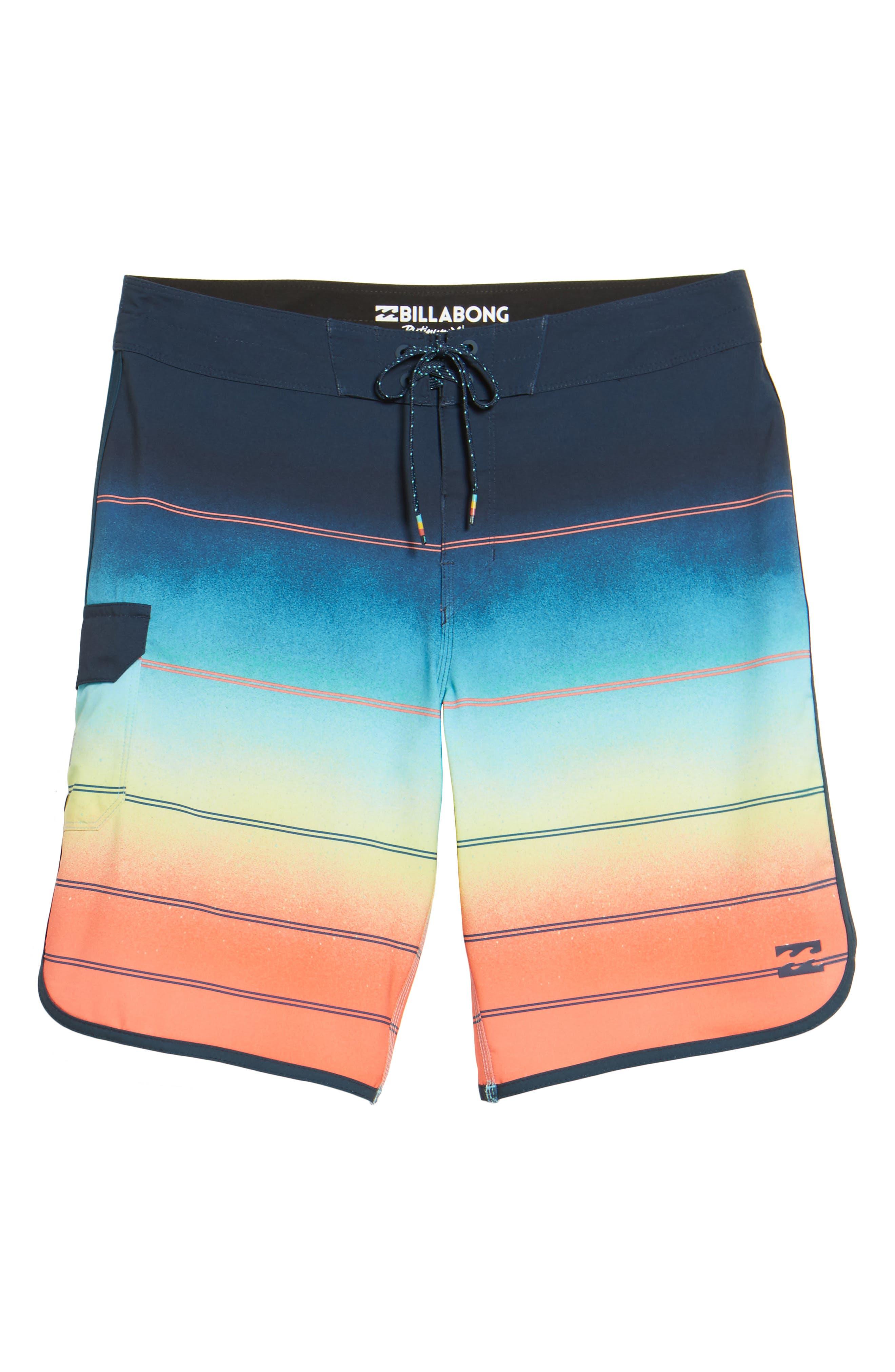 Alternate Image 5  - Billabong 73 X Stripe Board Shorts