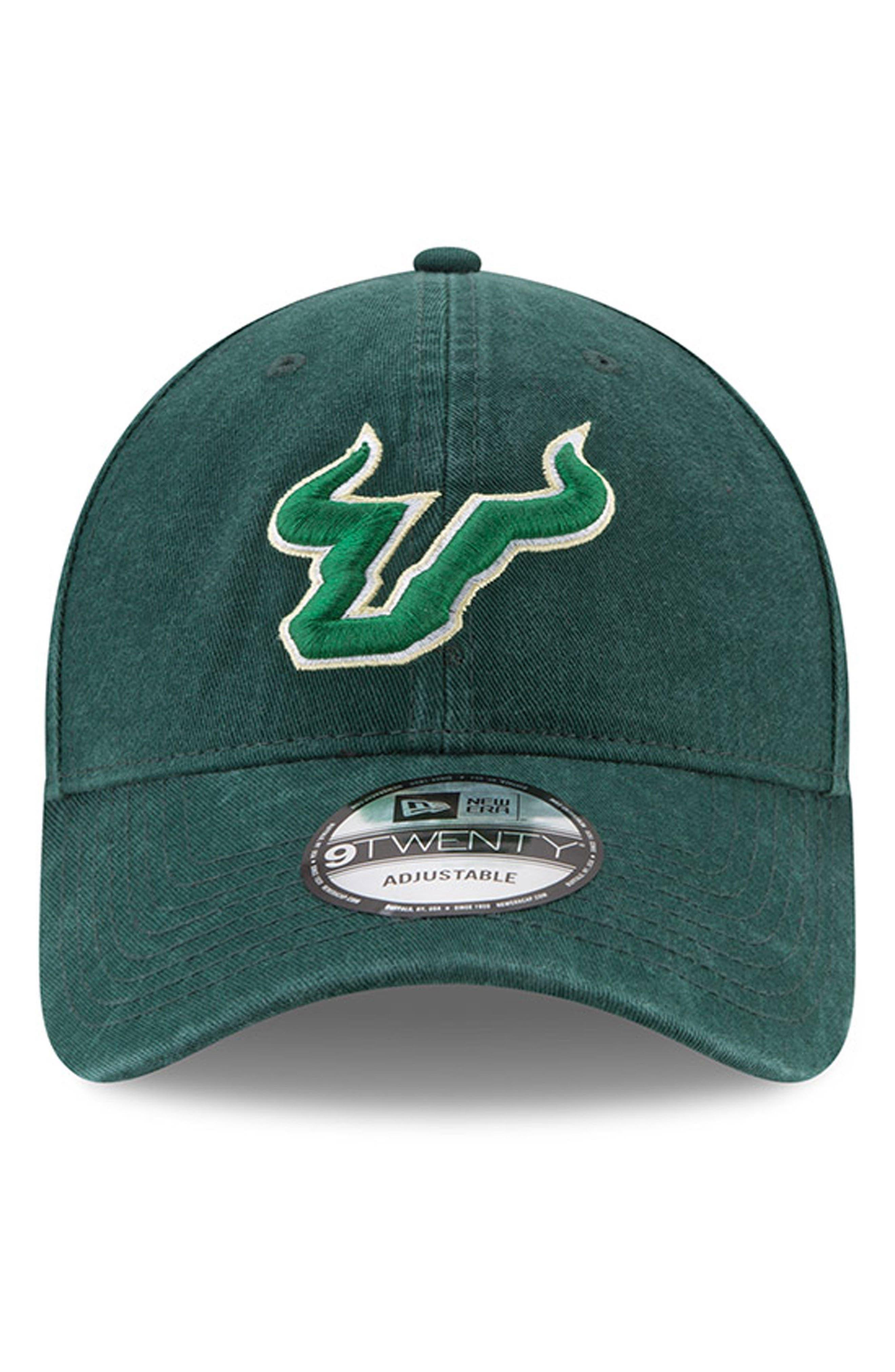 New Era Collegiate Core Classic - South Florida Bulls Baseball Cap,                             Alternate thumbnail 5, color,                             South Florida Bulls