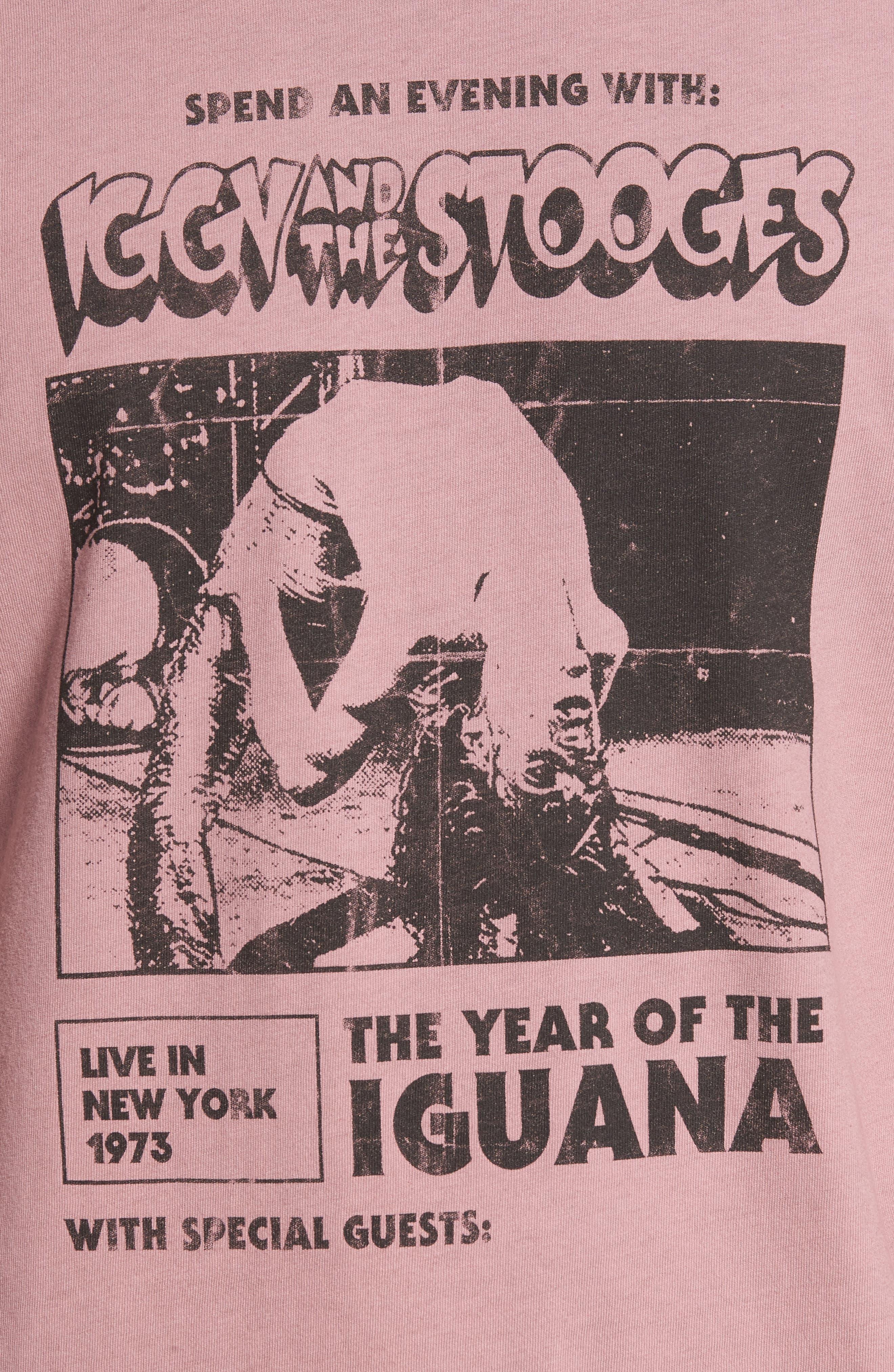Alternate Image 5  - Iggy Pop x Billabong Iguana T-Shirt