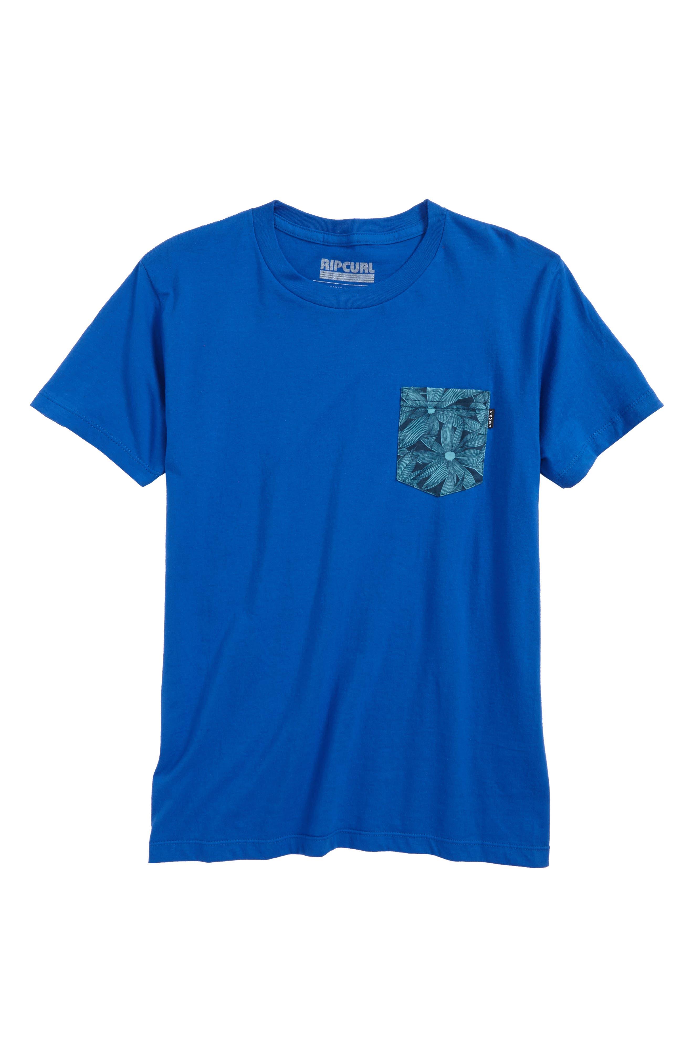 Rip Curl Staples Contrast Pocket T-Shirt (Little Boys & Big Boys)