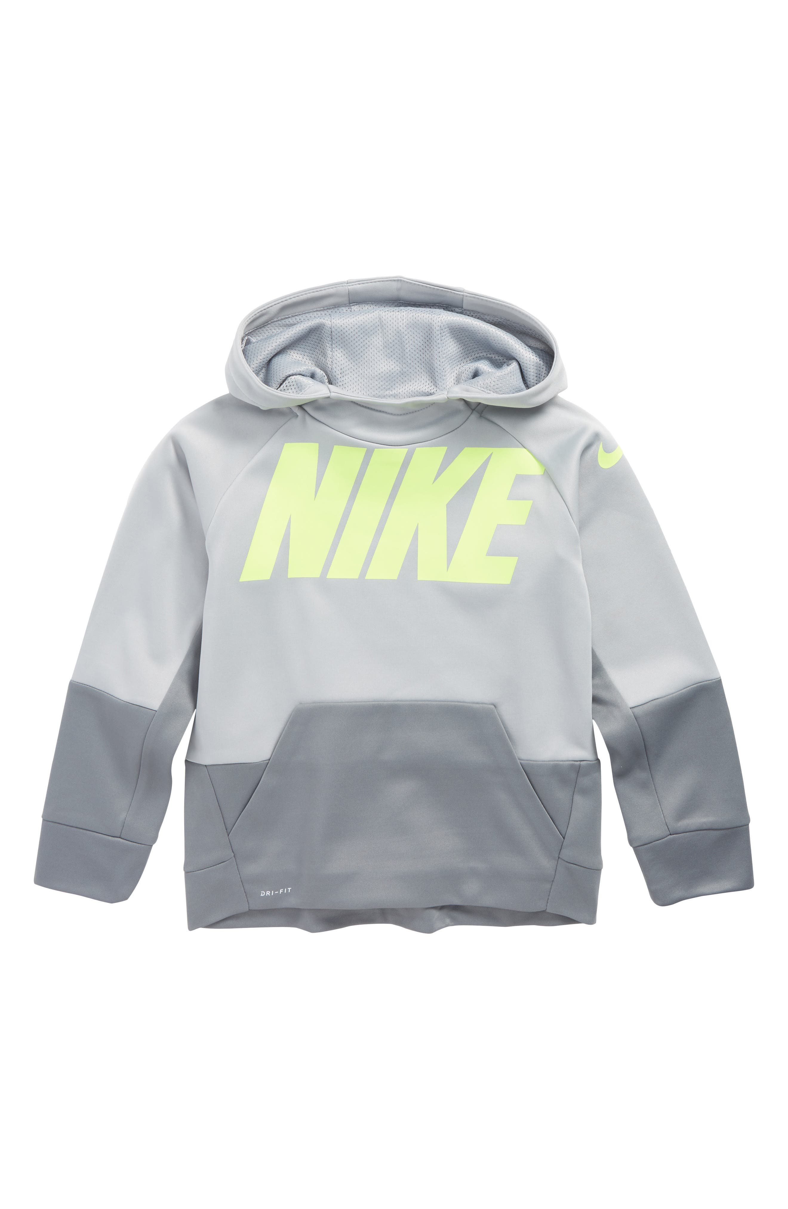 Alternate Image 1 Selected - Nike Therma Hoodie (Toddler Boys & Little Boys)