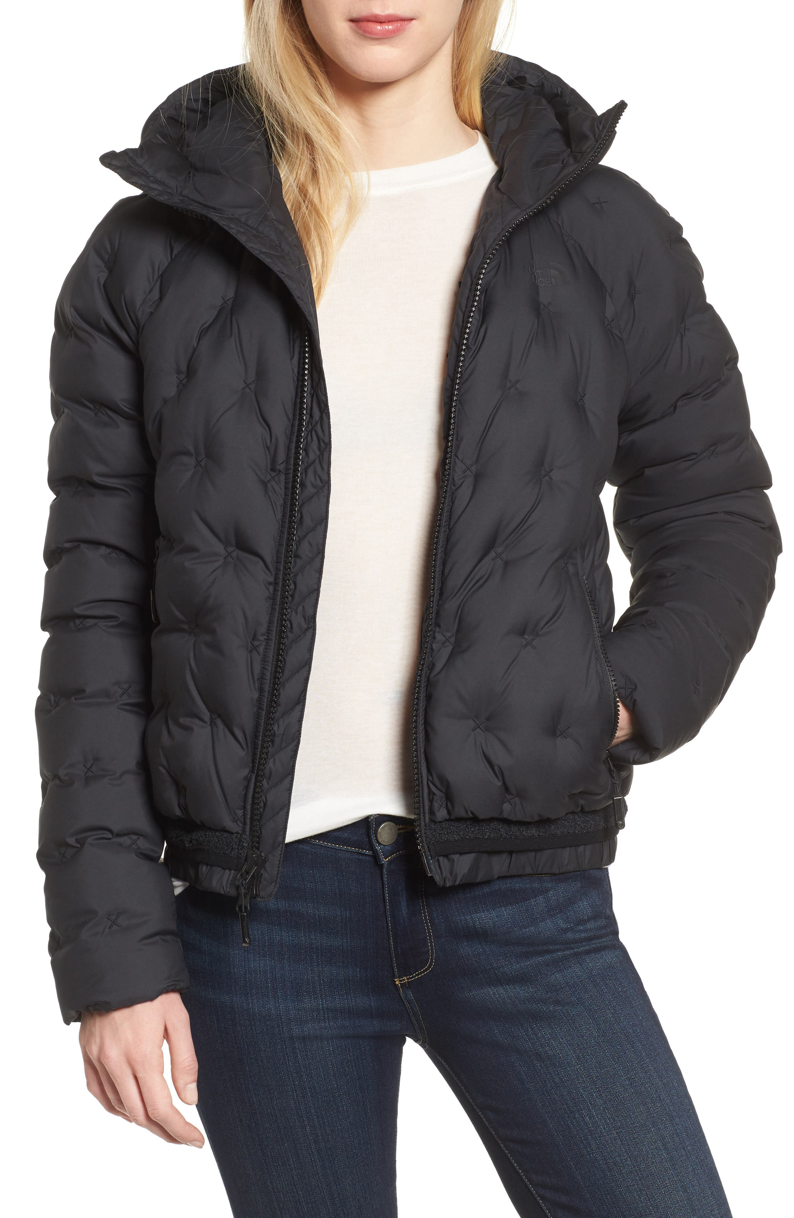 Alternate Image 1 Selected - The North Face Cryos 800-Fill-Power Down Bomber Jacket