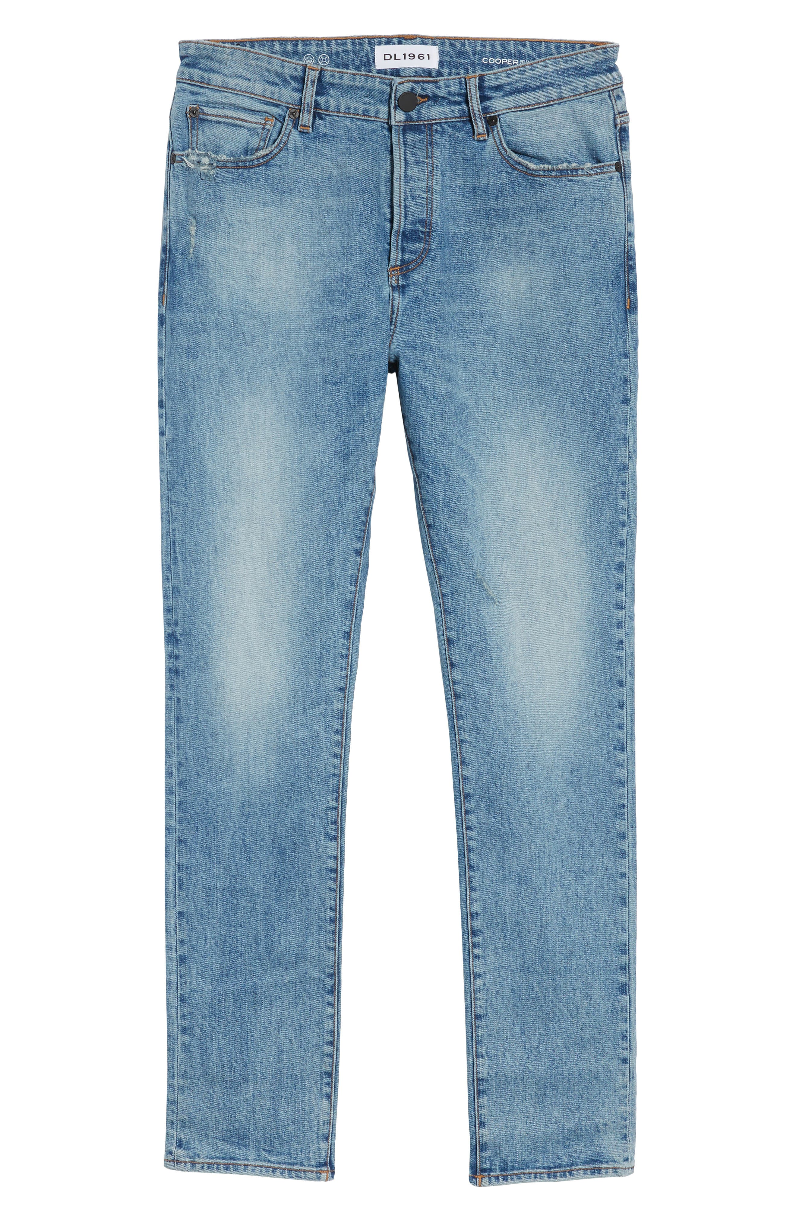 Cooper Slouchy Skinny Jeans,                             Alternate thumbnail 6, color,                             Breathe