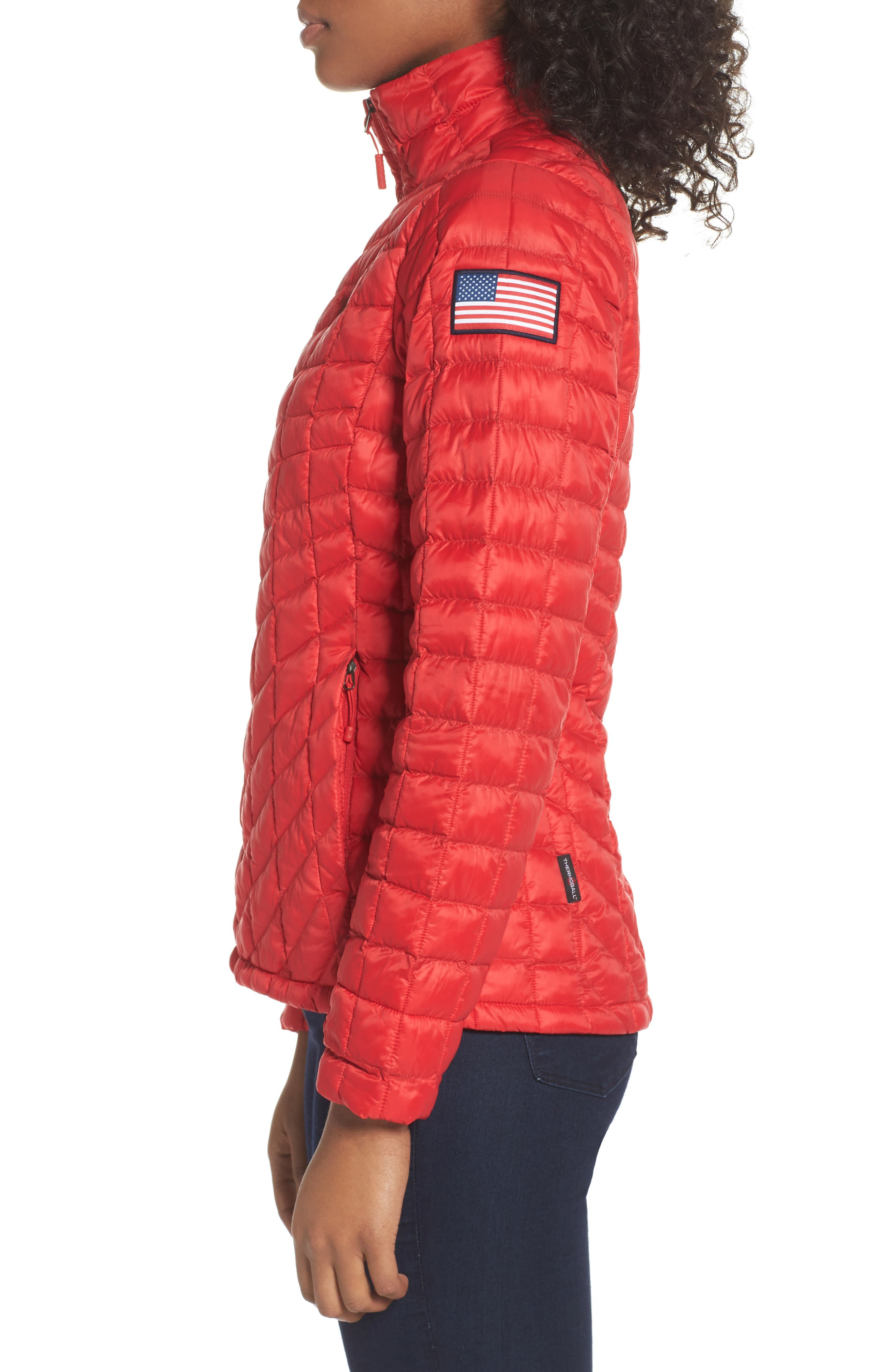 ThermoBall<sup>™</sup> PrimaLoft<sup>®</sup> Jacket,                             Alternate thumbnail 3, color,                             Tnf Red