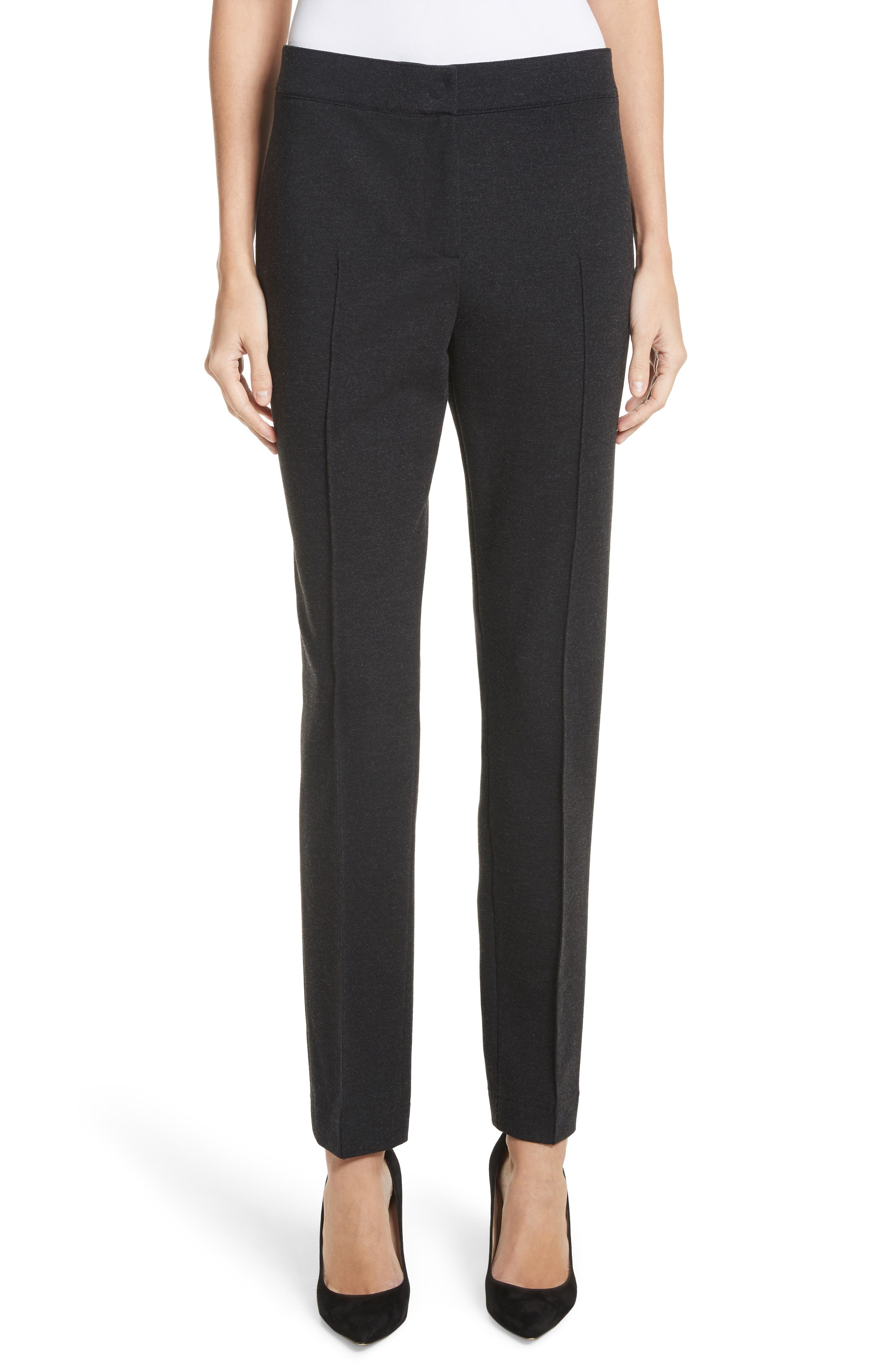 Jersey Pants,                         Main,                         color, Charcoal