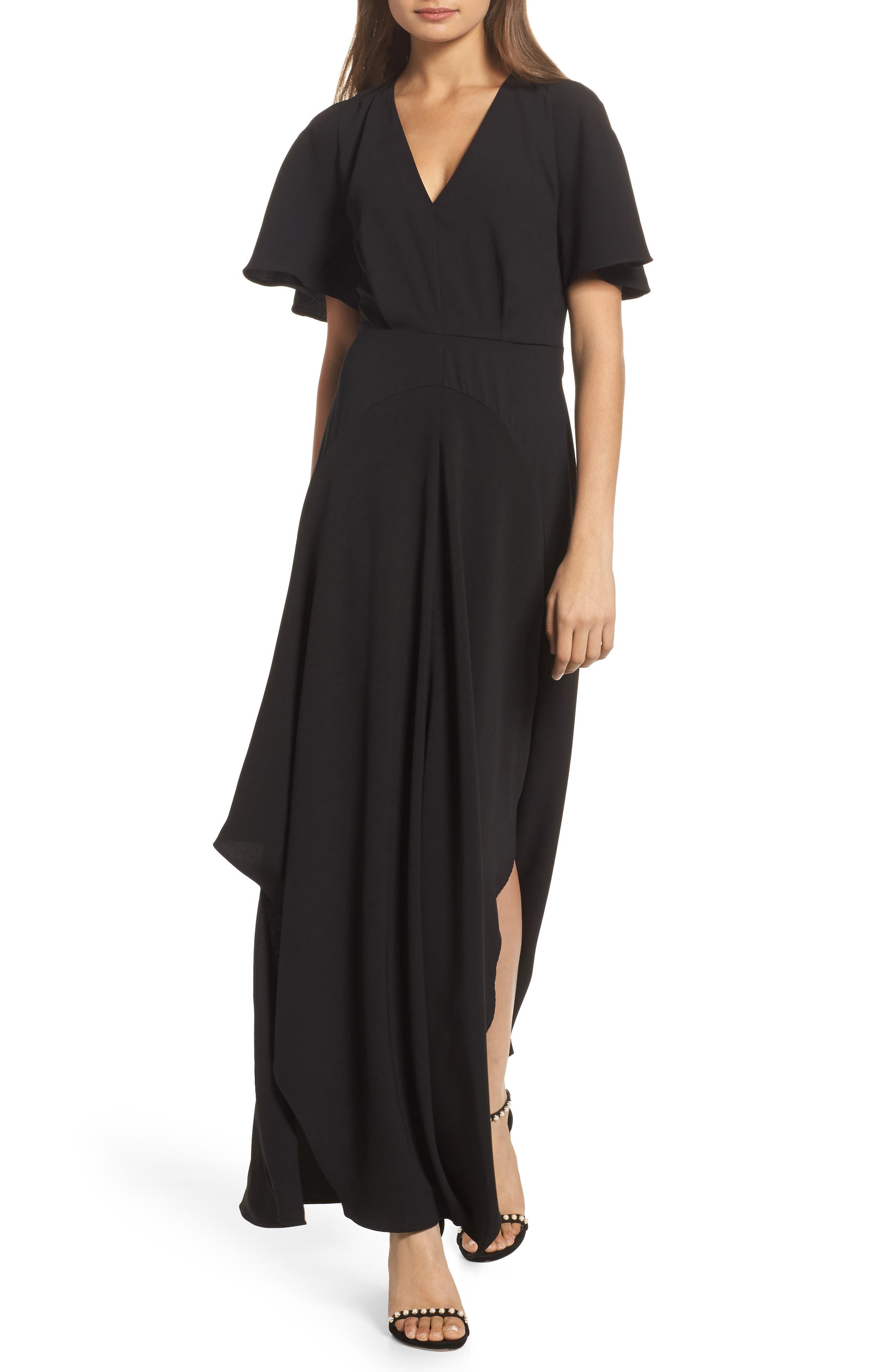 Kerry Maxi Dress,                         Main,                         color, Black