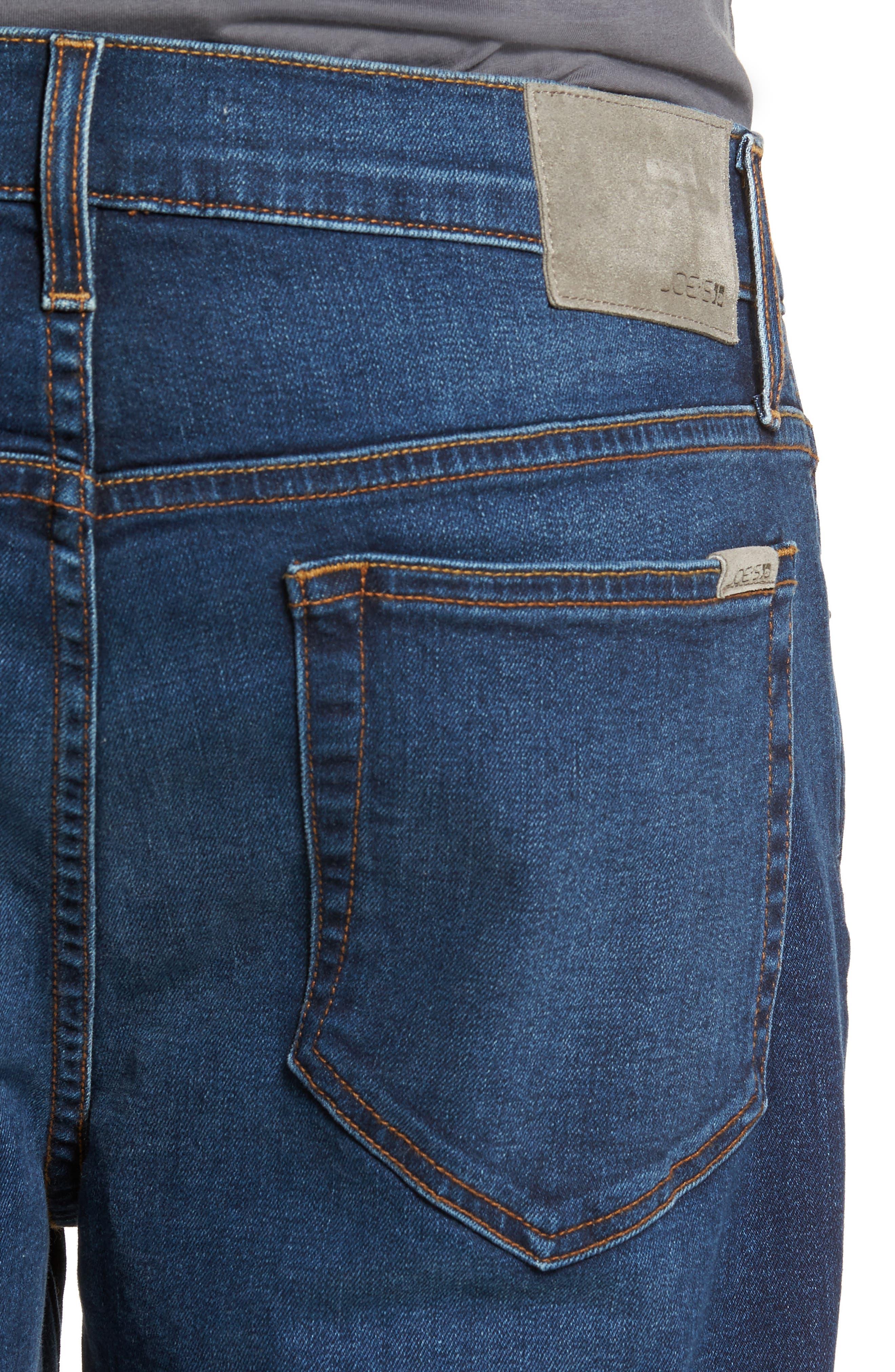 Brixton Slim Straight Leg Jeans,                             Alternate thumbnail 4, color,                             Line