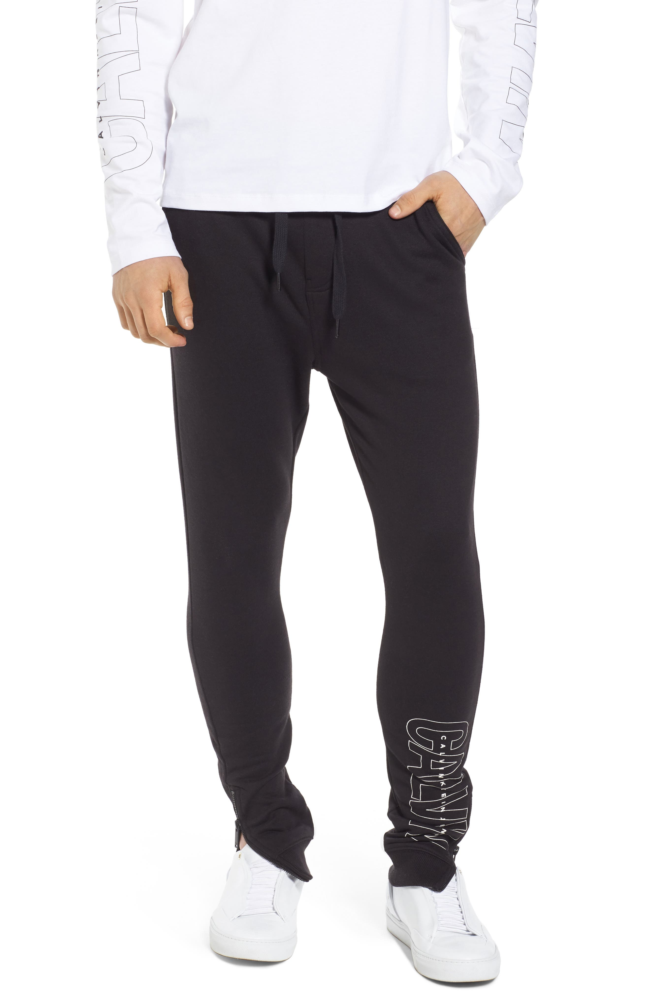 Sweatpants,                         Main,                         color, Black