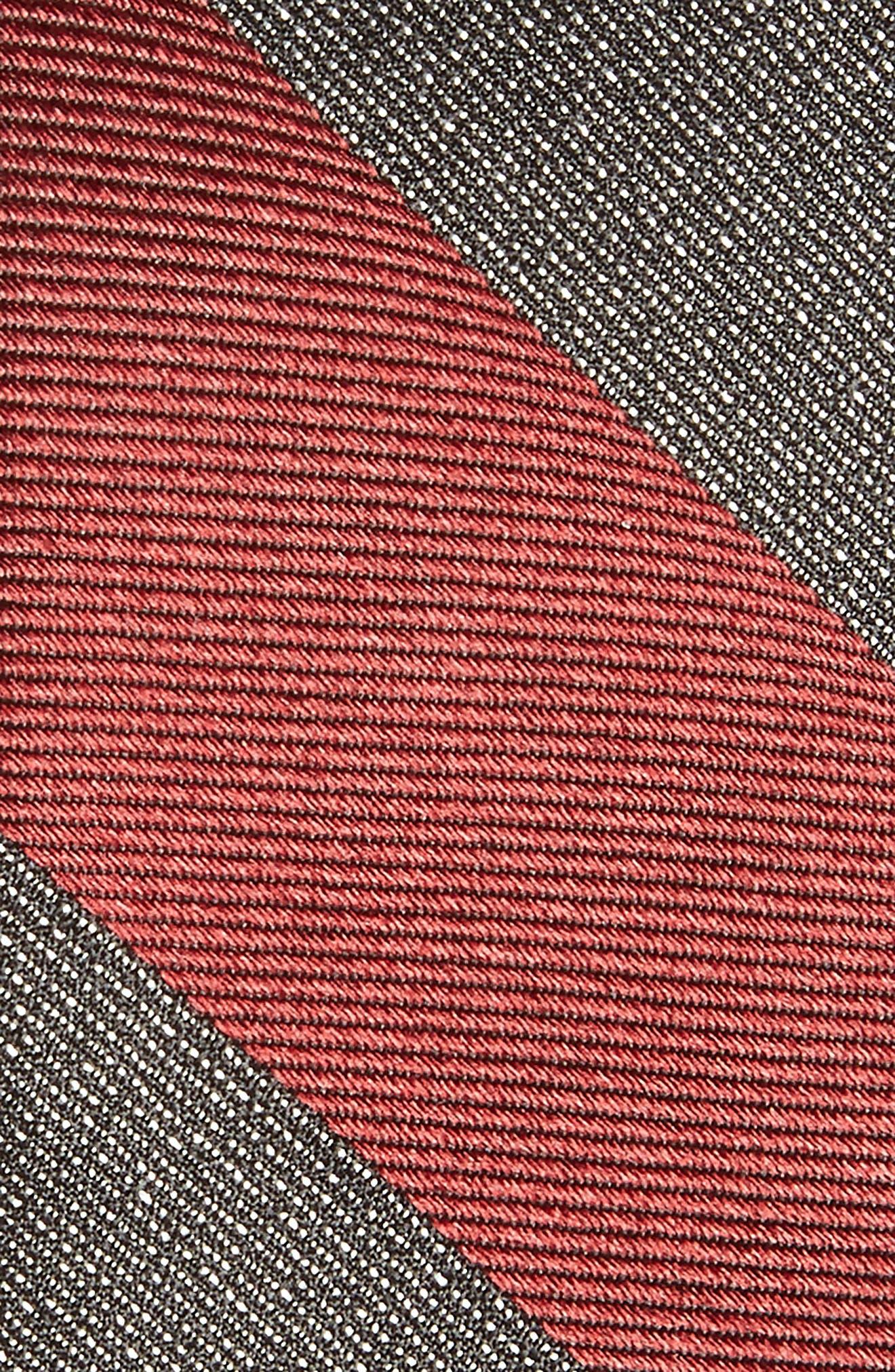 Alternate Image 2  - Calibrate Marble Stripe Silk Tie