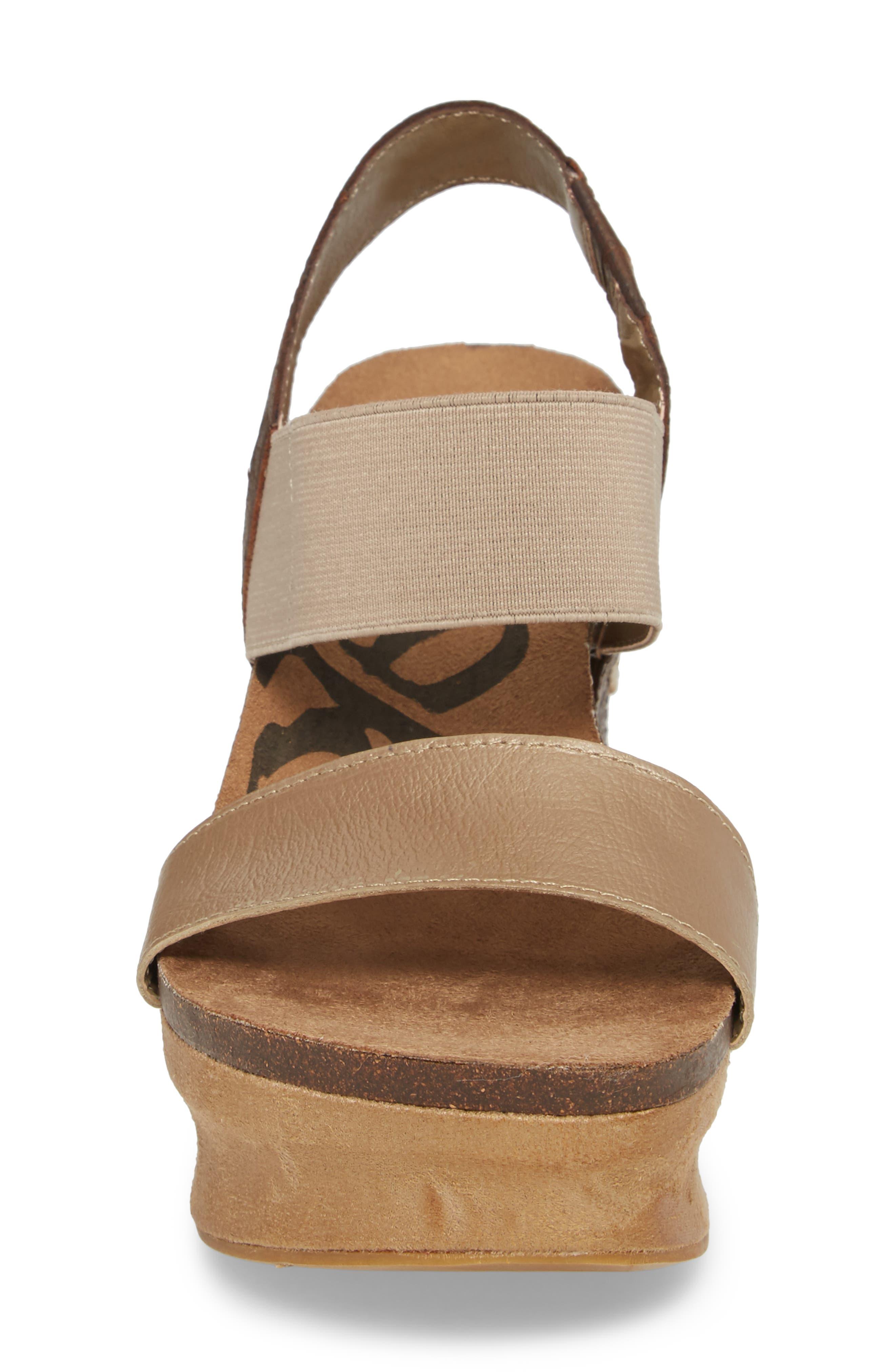Alternate Image 4  - OTBT 'Bushnell' Wedge Sandal