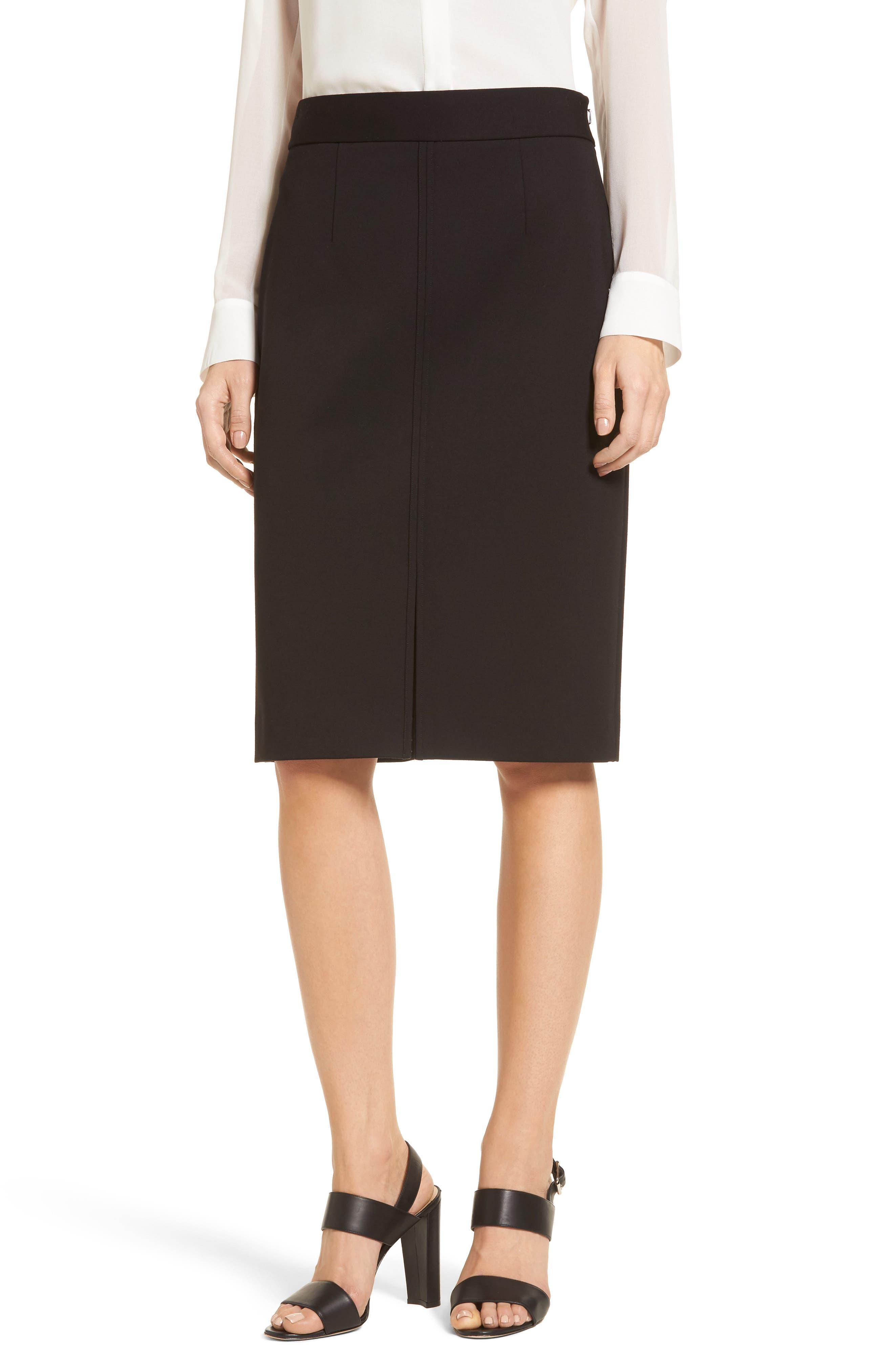 Alternate Image 1 Selected - Emerson Rose Ponte Knit Pencil Skirt