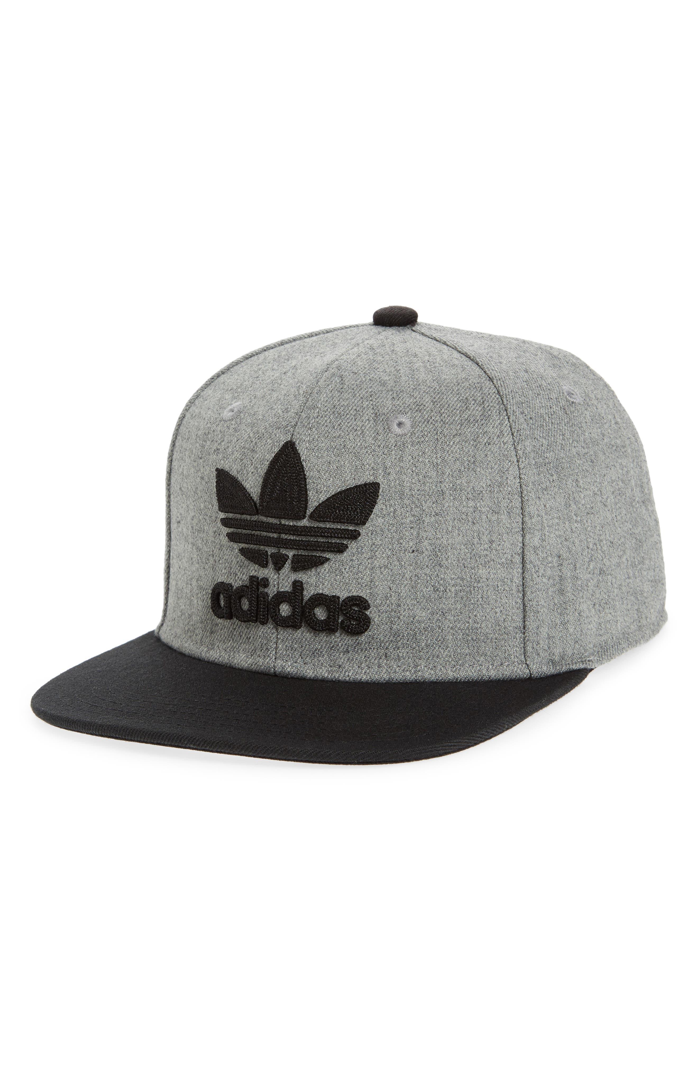 Alternate Image 1 Selected - adidas Originals Trefoil Chain Snapback Baseball Cap