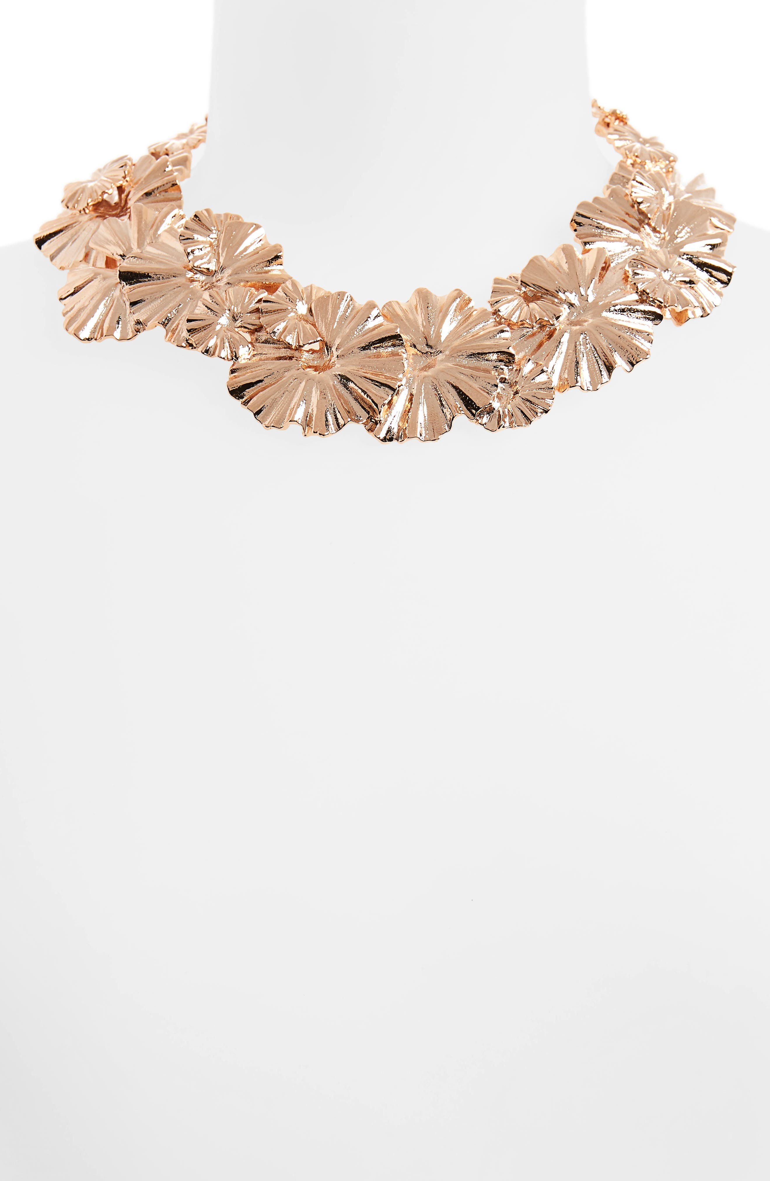 Alternate Image 2  - Oscar de la Renta Wildflower Necklace