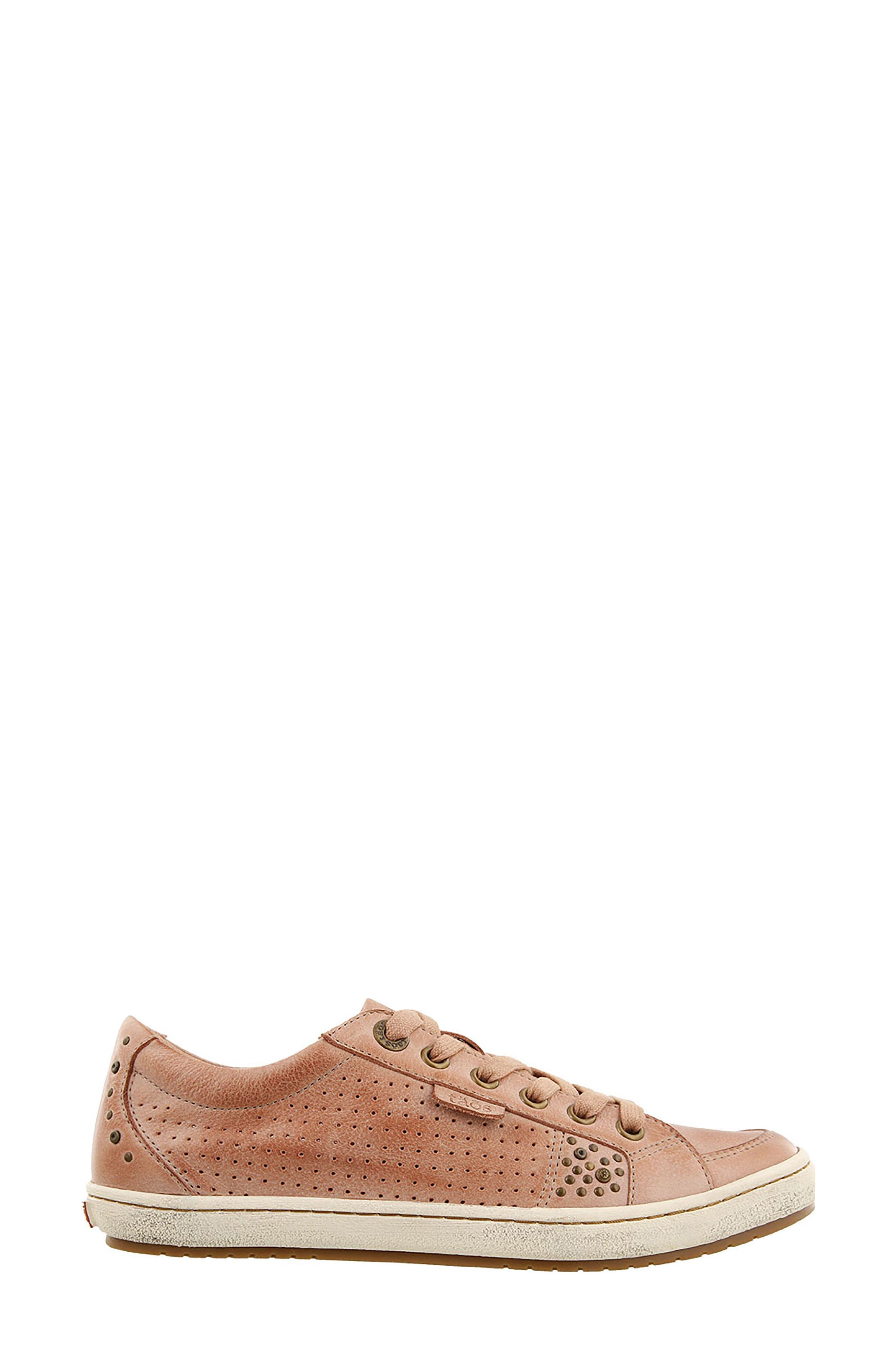 'Freedom' Sneaker,                             Alternate thumbnail 3, color,                             Blush Leather
