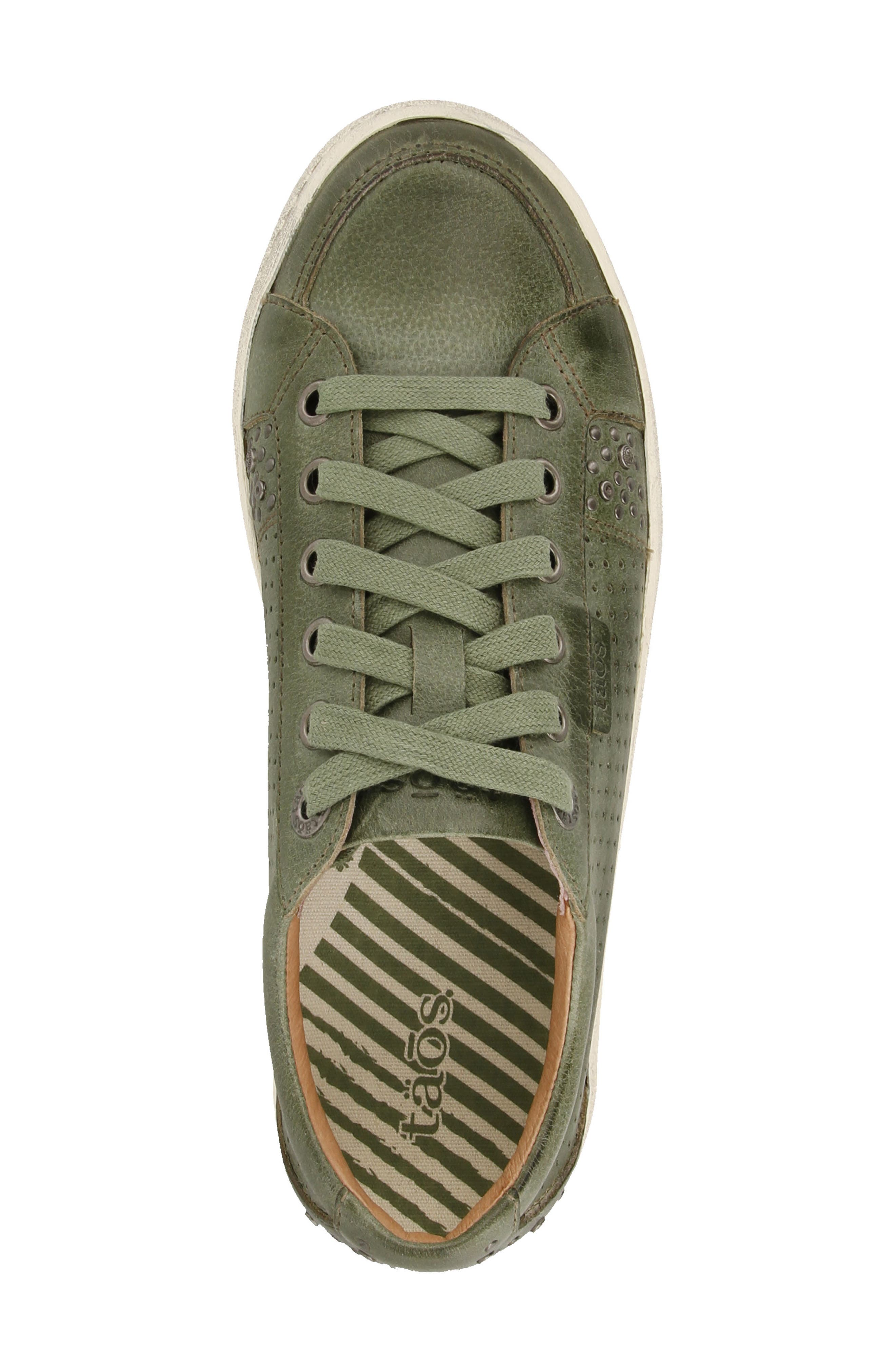 'Freedom' Sneaker,                             Alternate thumbnail 3, color,                             Sage Leather