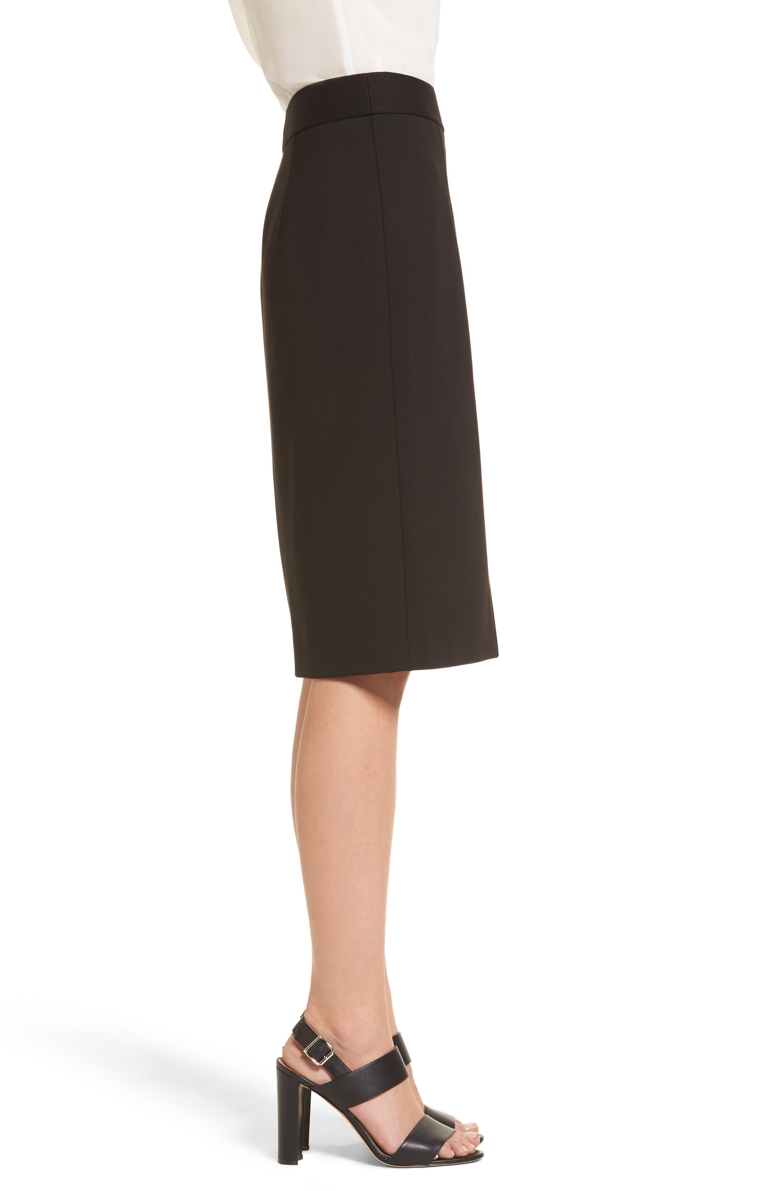 Alternate Image 3  - Emerson Rose Ponte Knit Pencil Skirt