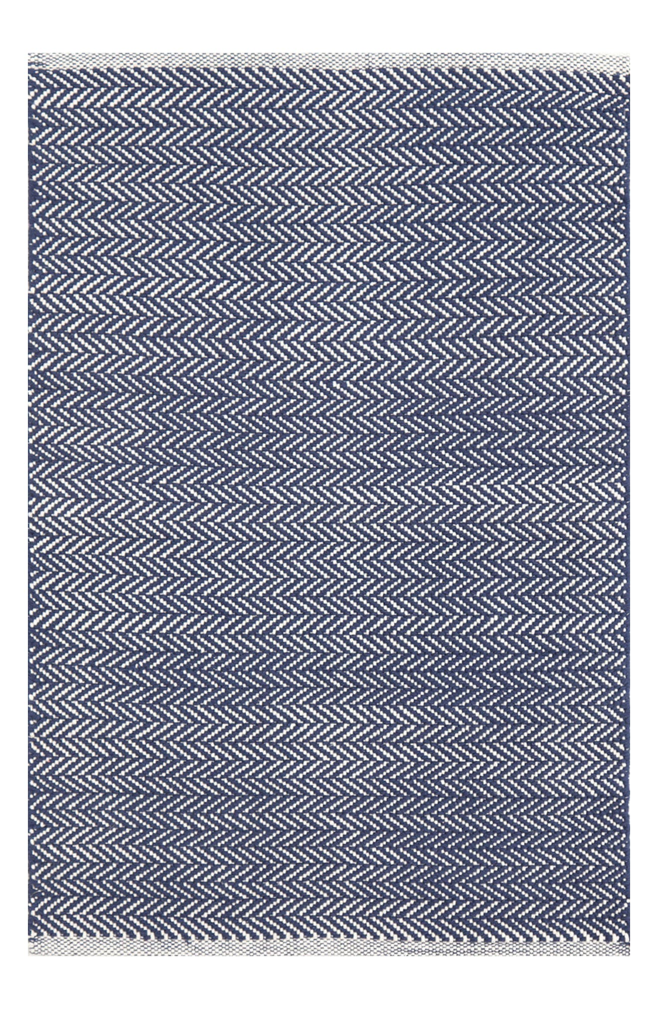 Dash & Albert Herringbone Cotton Rug