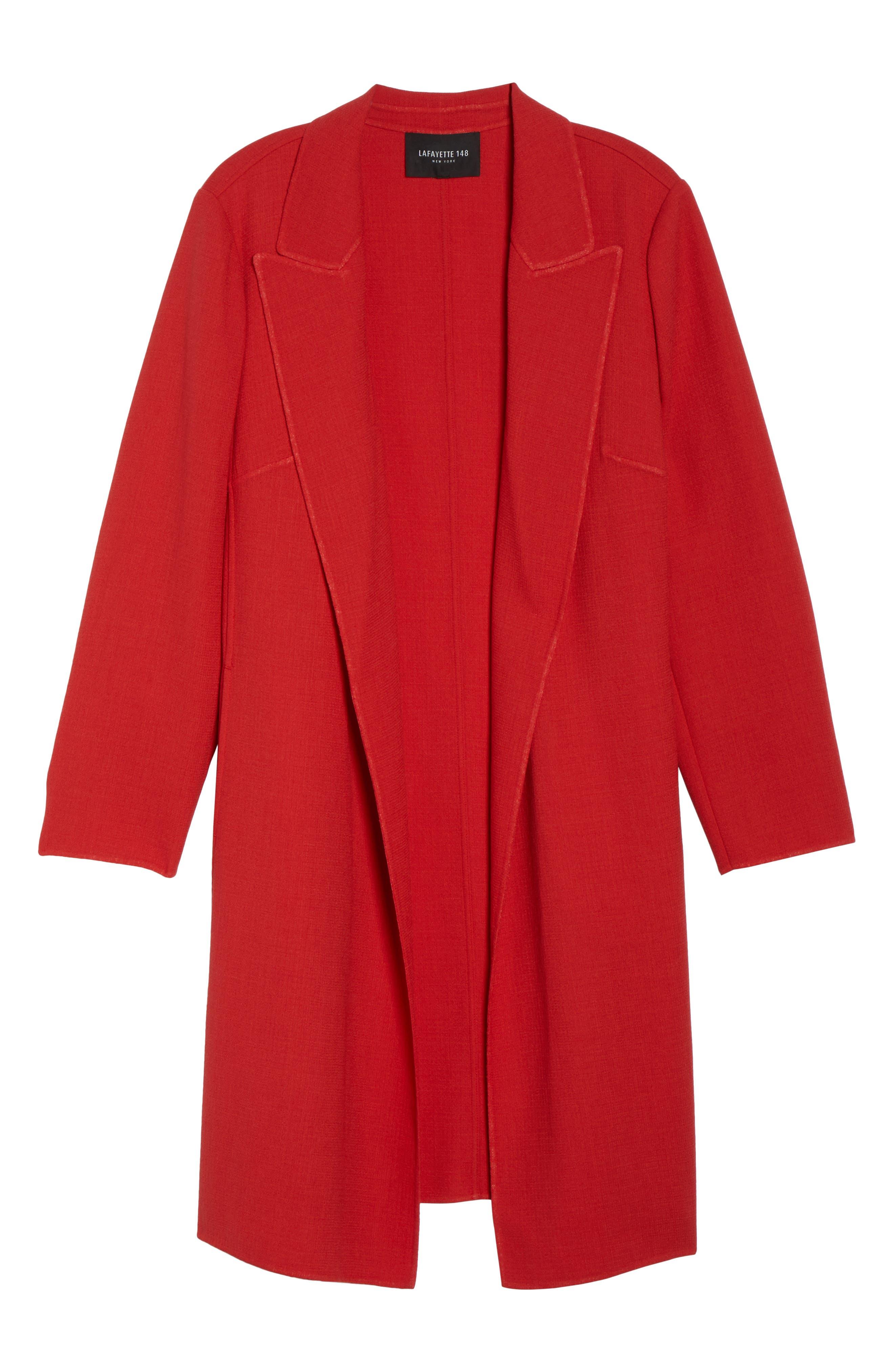 Alternate Image 6  - Lafayette 148 New York Carmelle Nouveau Crepe Jacket (Plus Size)