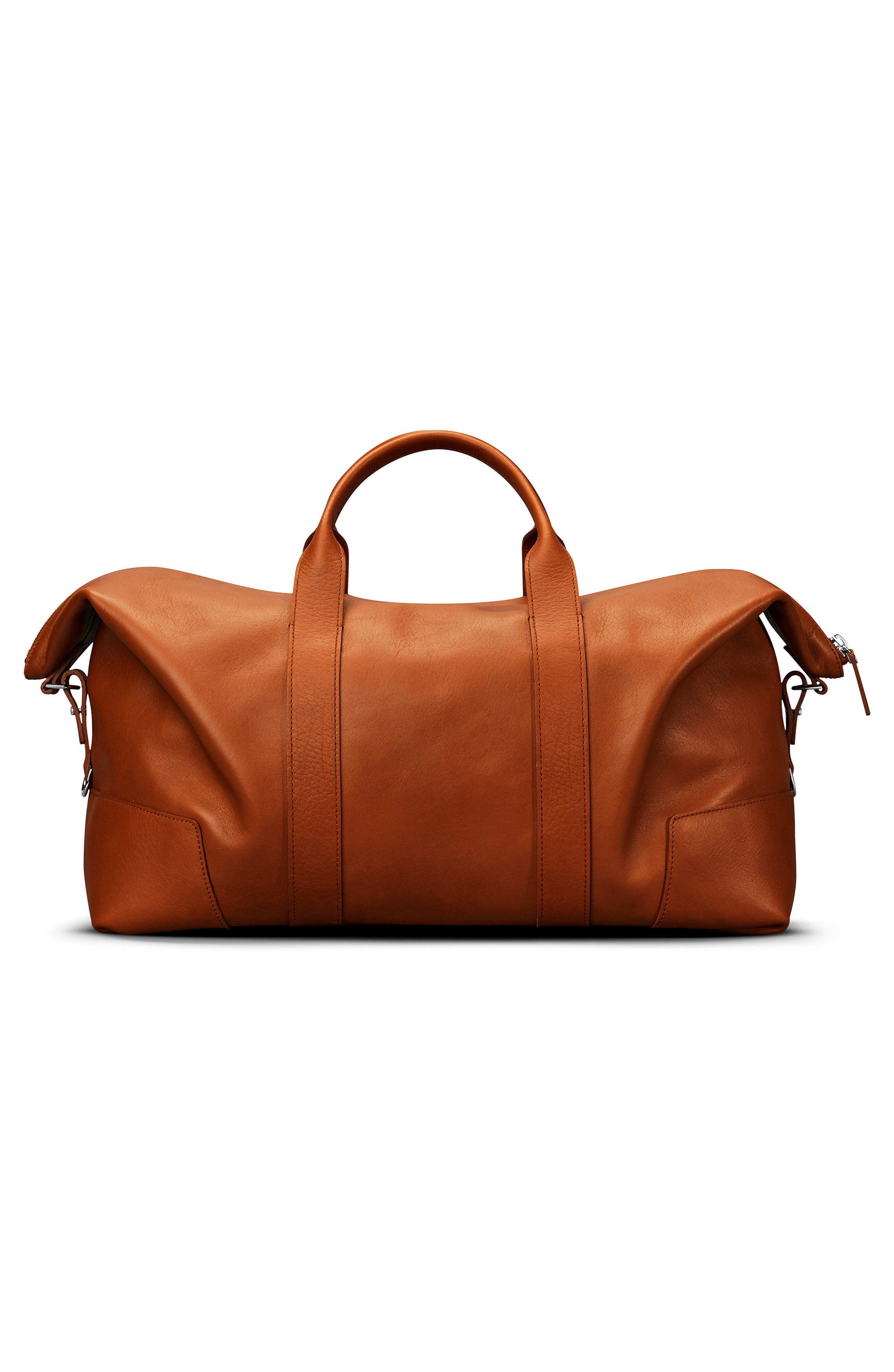 Alternate Image 2  - Shinola Signature Leather Duffel Bag