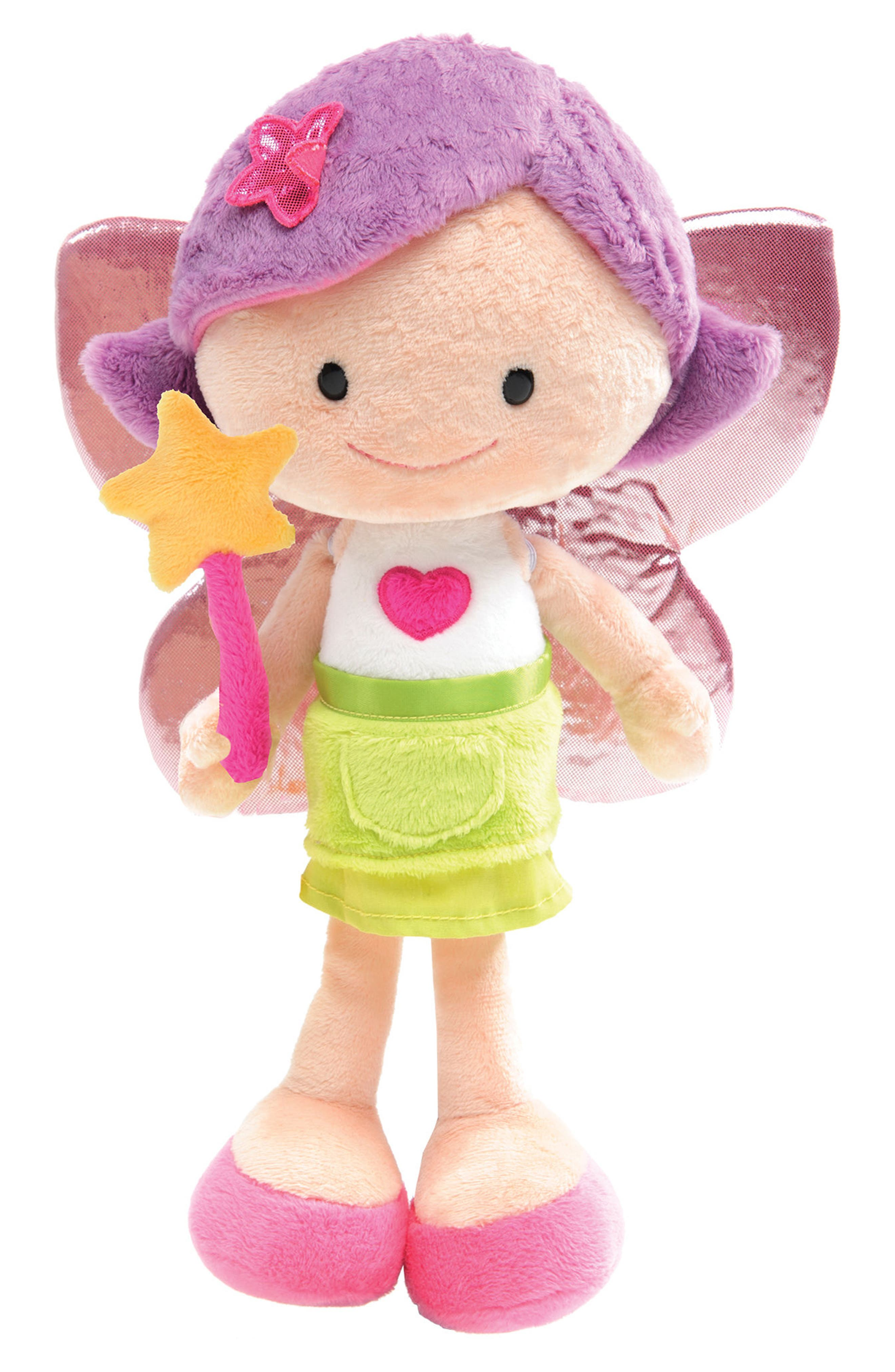 Neat Oh! Nici<sup>®</sup> Wonderland Minimorgan the Fairy Plush Doll,                         Main,                         color, Pink
