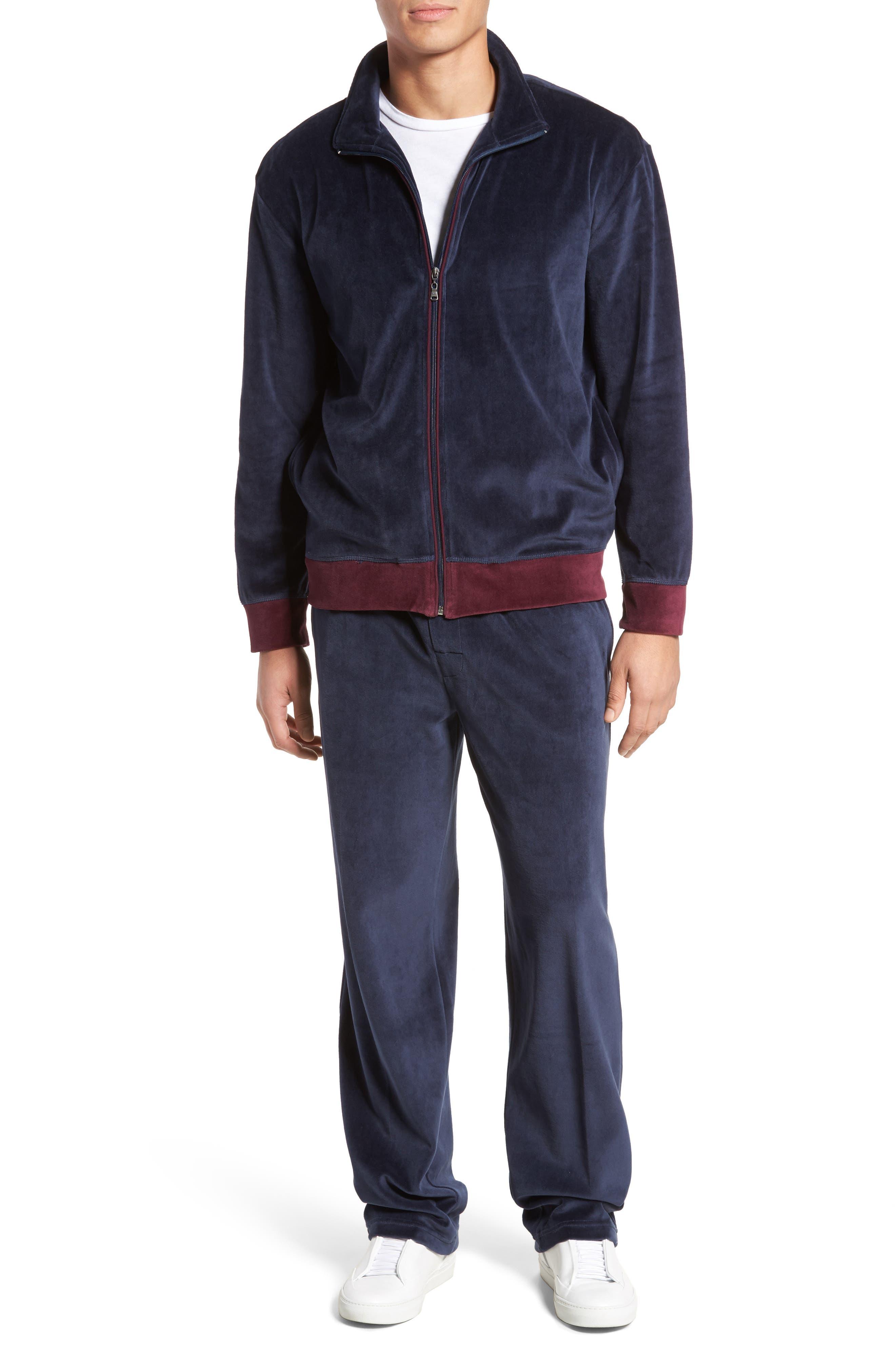 Majestic International Strathcona Velour Warm-Up Suit