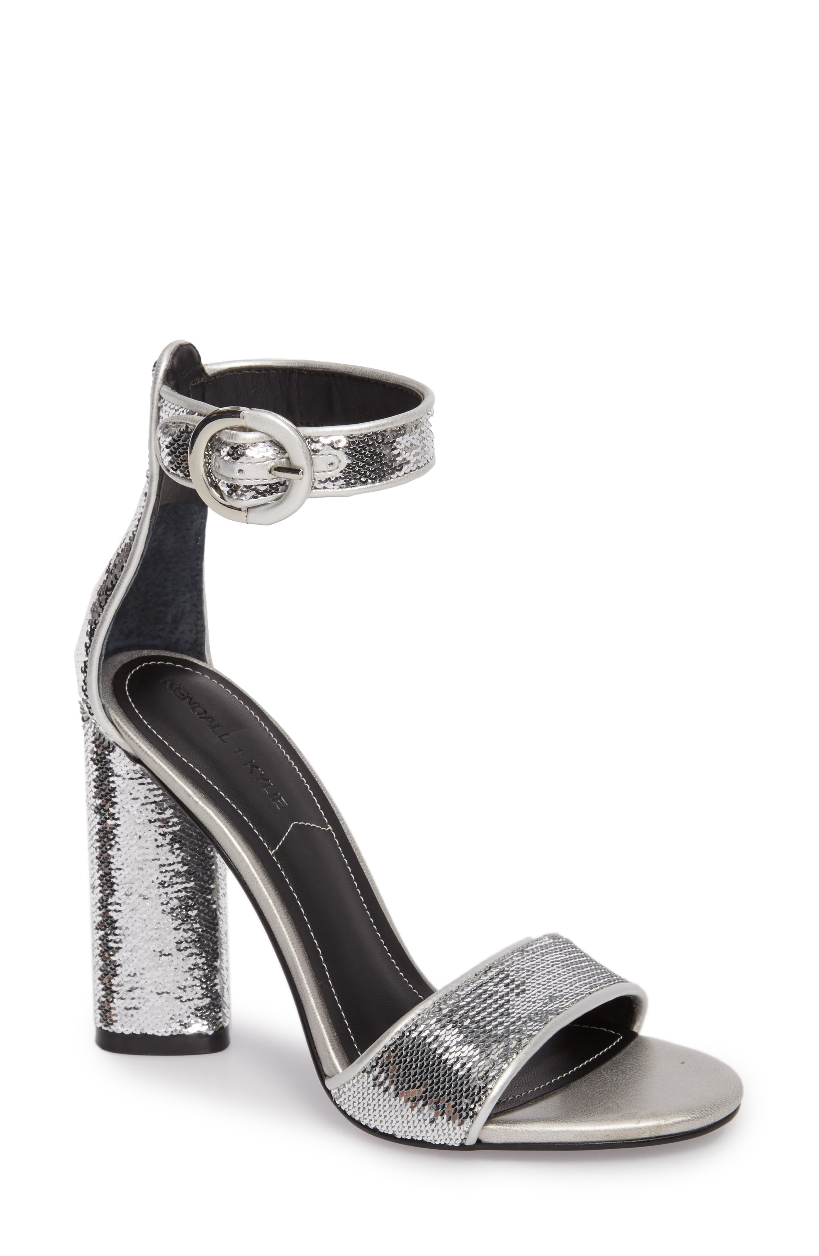 KENDALL + KYLIE Giselle Ankle Strap Sandal (Women)