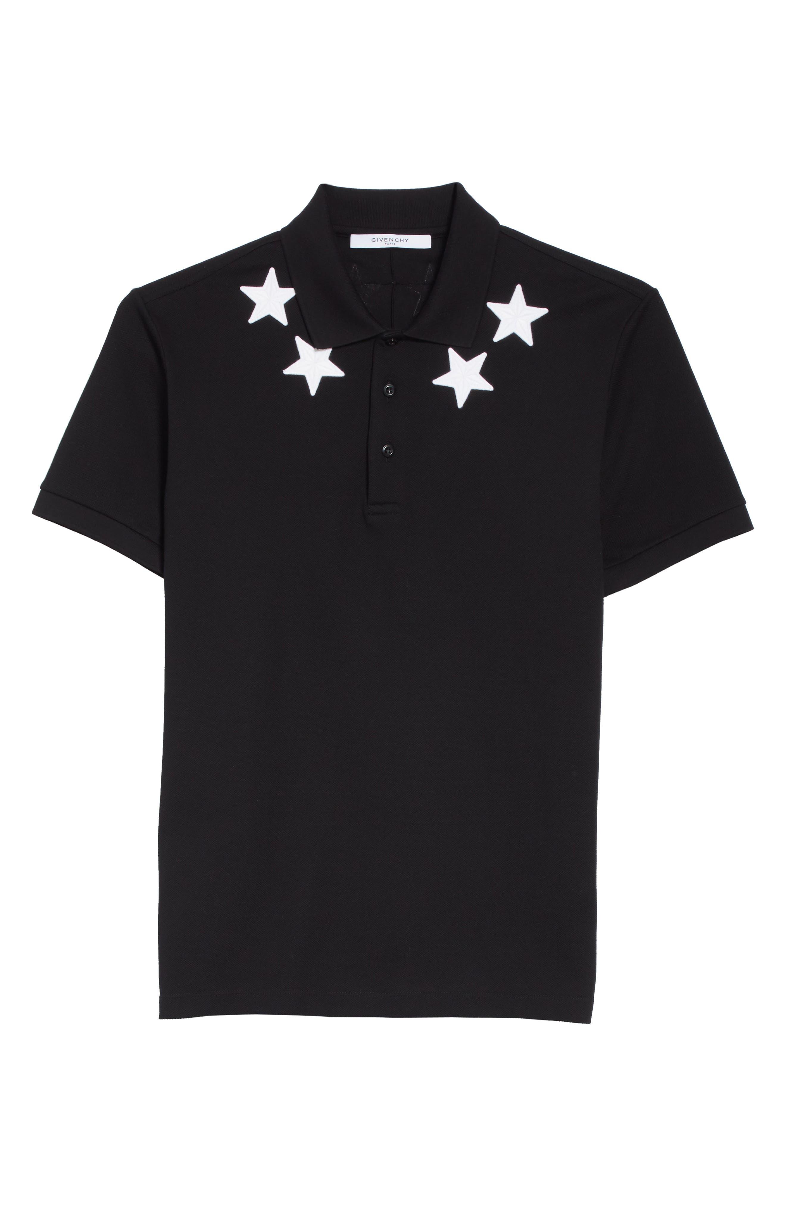 Alternate Image 6  - Givenchy Star Polo Shirt