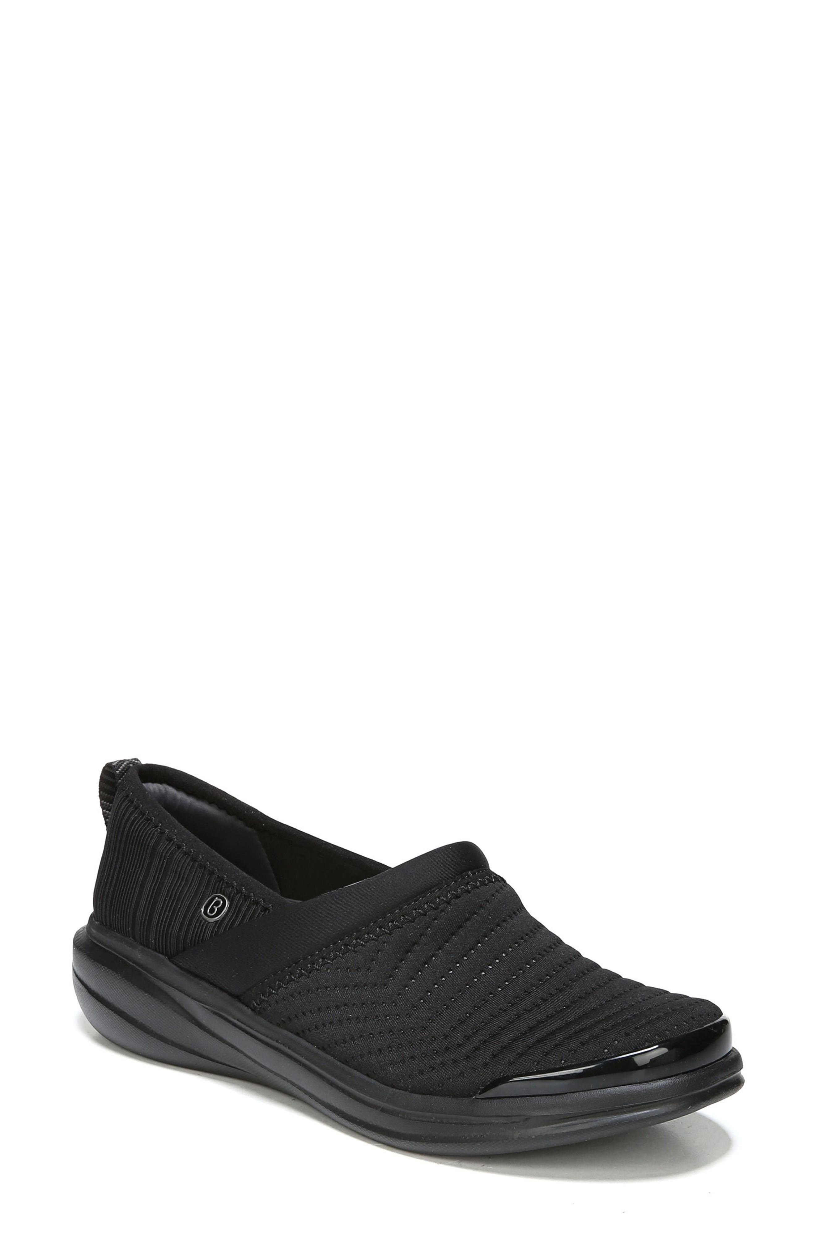 Coco Slip-On Sneaker,                             Main thumbnail 1, color,                             Black Fabric