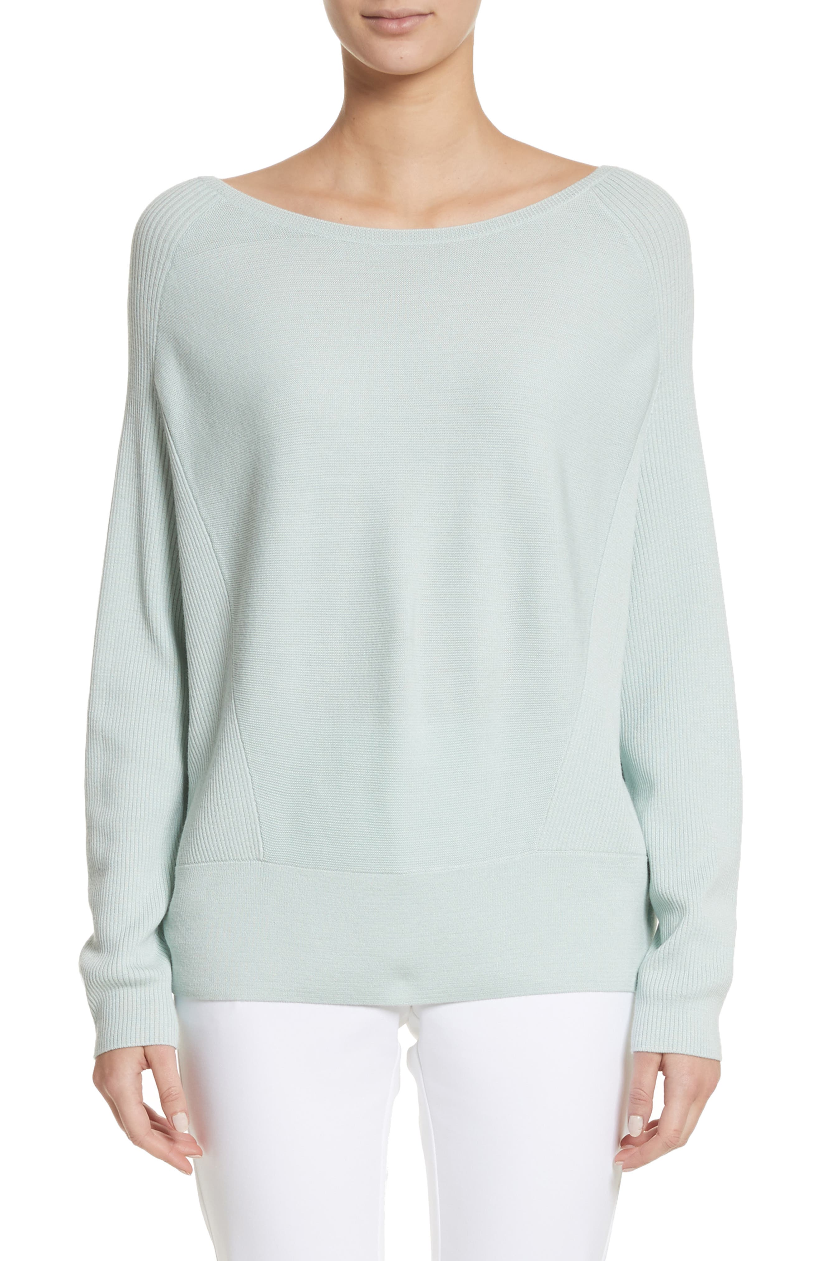 Alternate Image 1 Selected - St. John Collection Links Rib Knit Sweater
